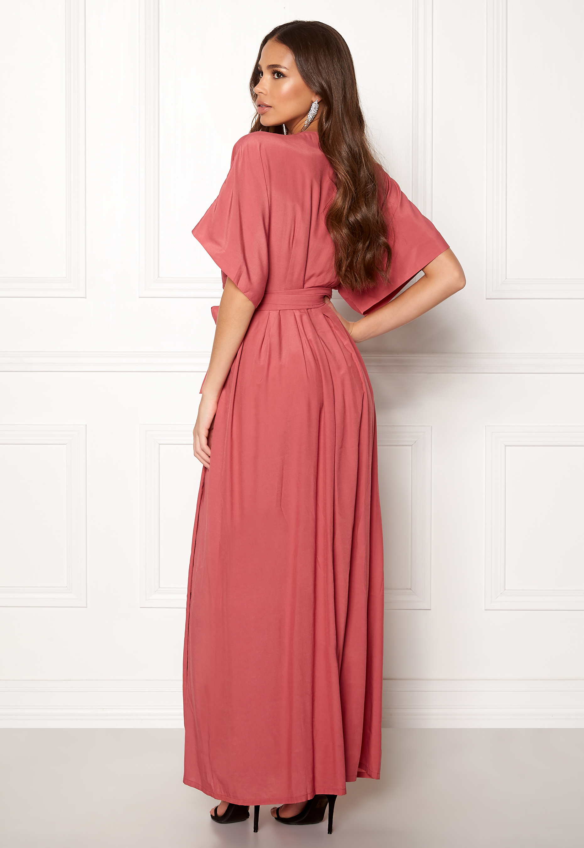b5c4567a DRY LAKE Florence Dress Dull Pink - Bubbleroom