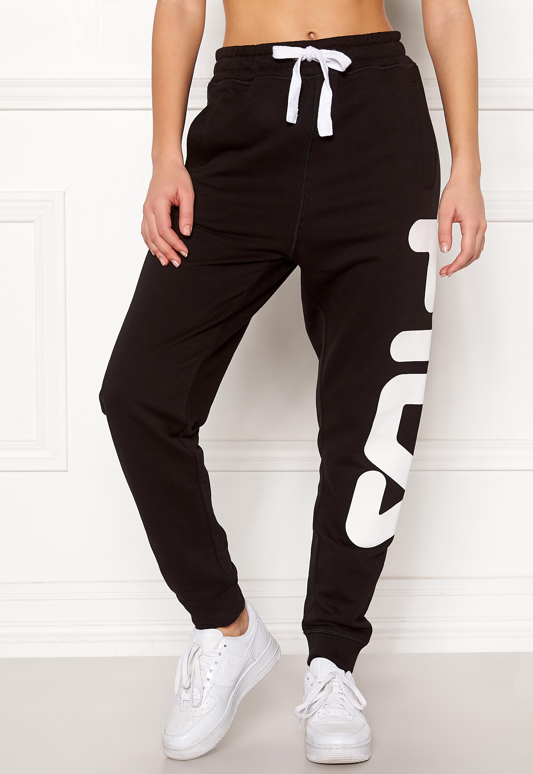 ad678bbe80d2 FILA Classic Basic Sweatpants Black - Bubbleroom