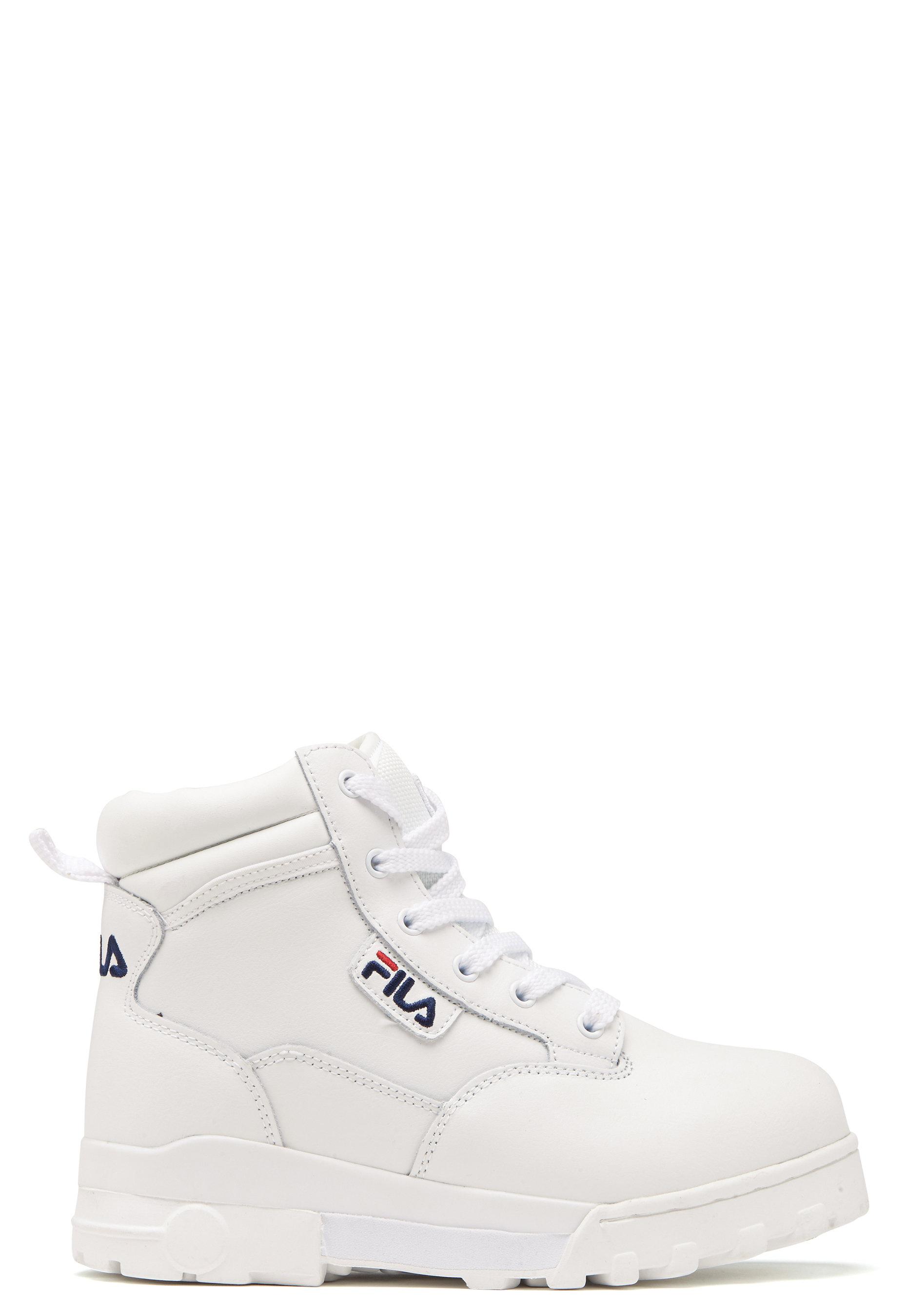 FILA Grunge L Mid Boots White - Bubbleroom