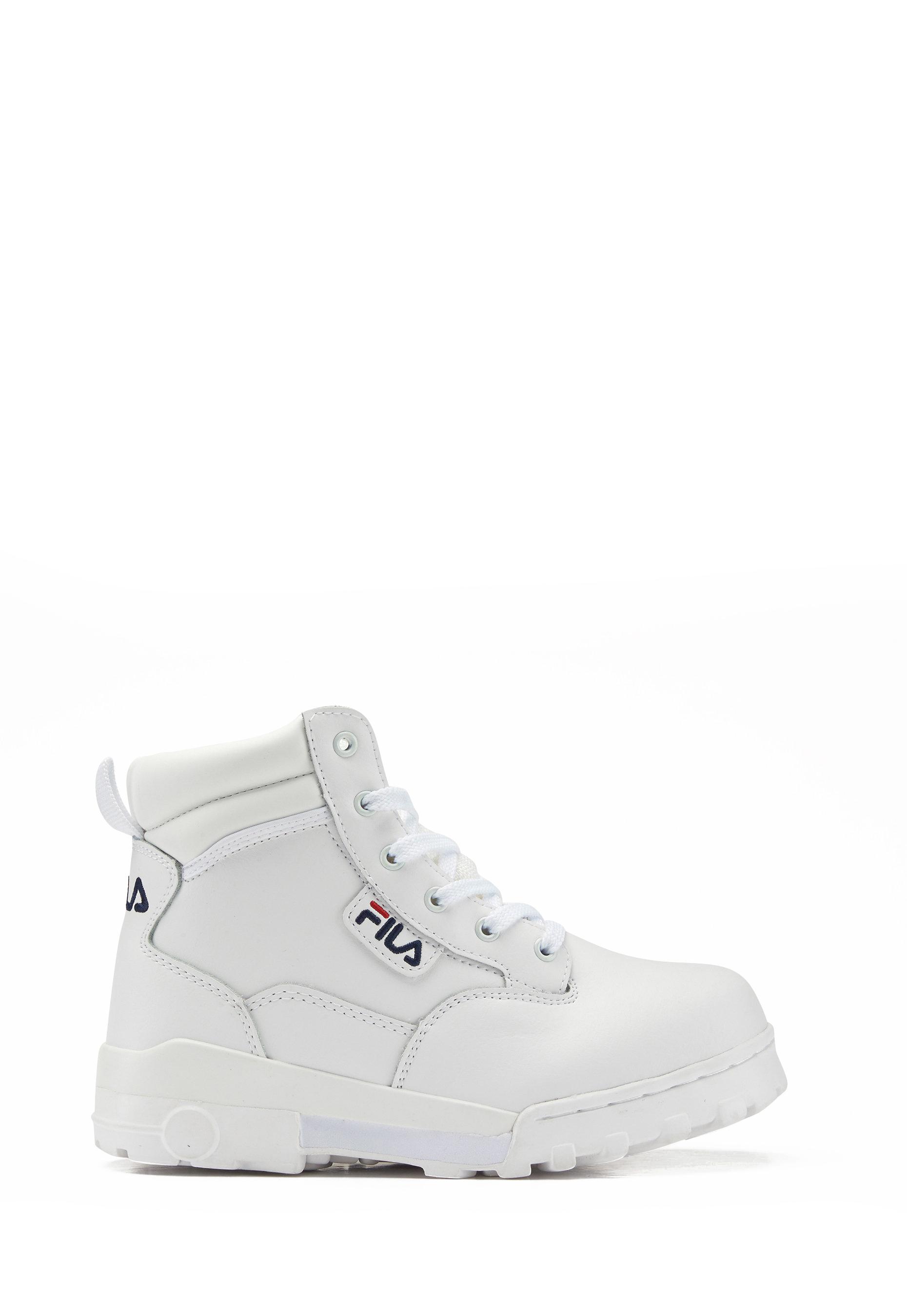 FILA Grunge Mid Boots White - Bubbleroom