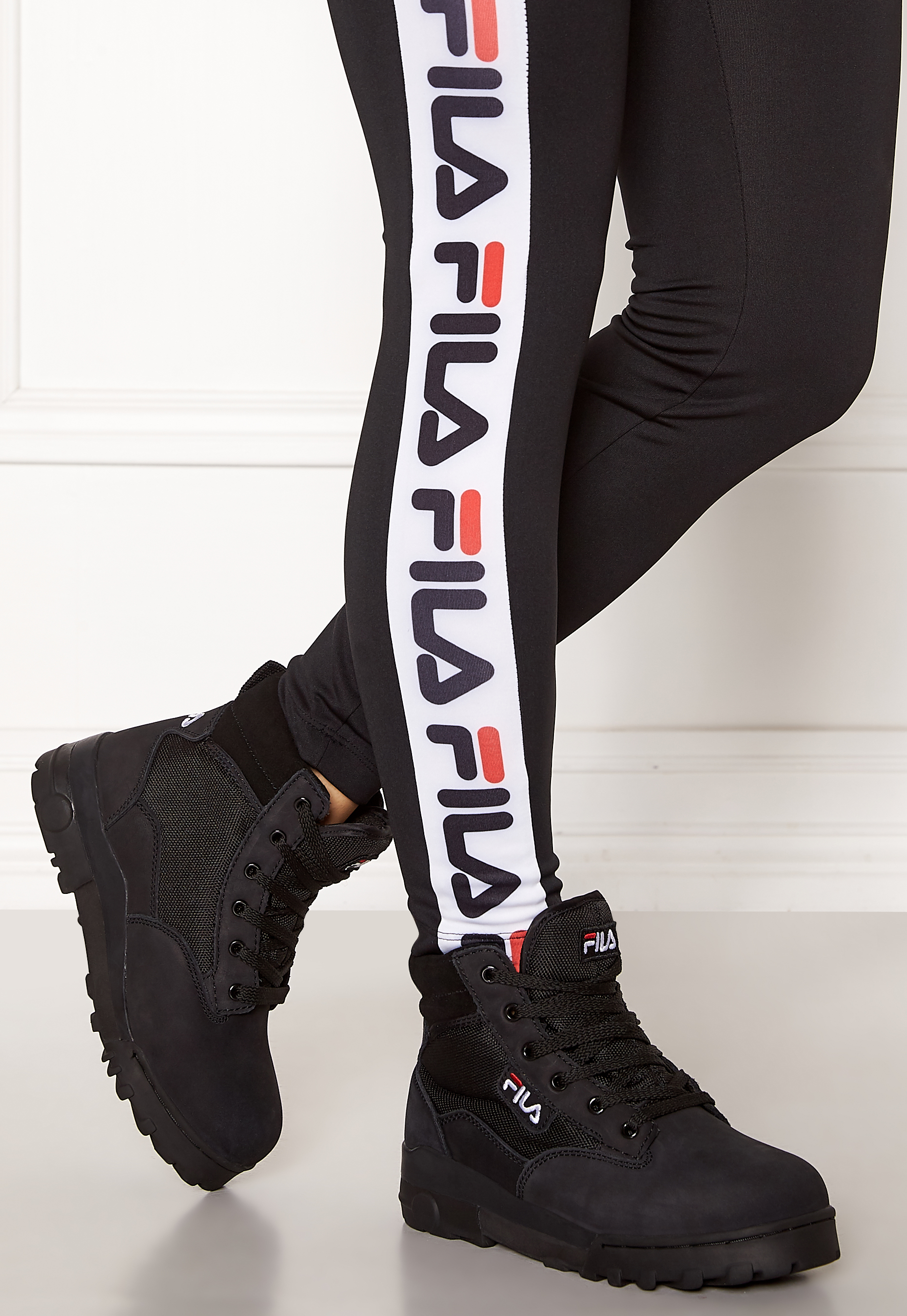 FILA Grunge Mid Wmn Boots Black - Bubbleroom