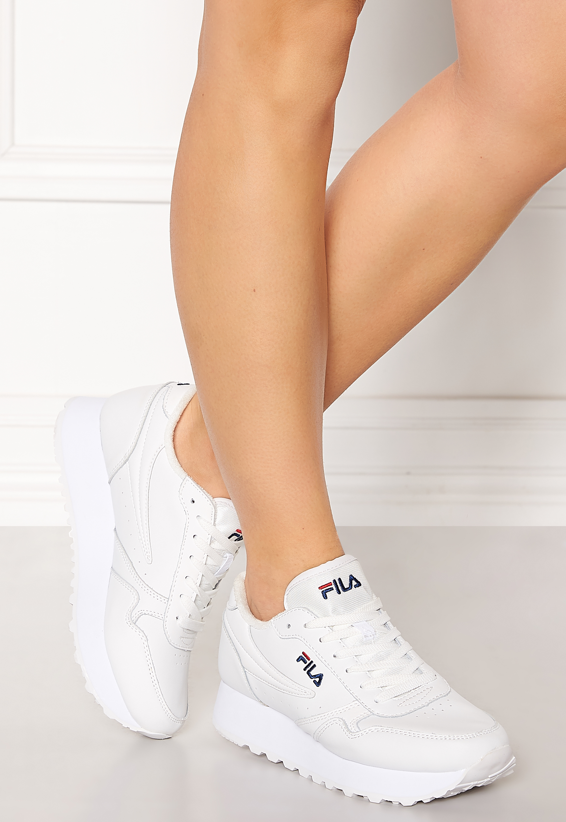 FILA Orbit Zeppa L Shoes White - Bubbleroom