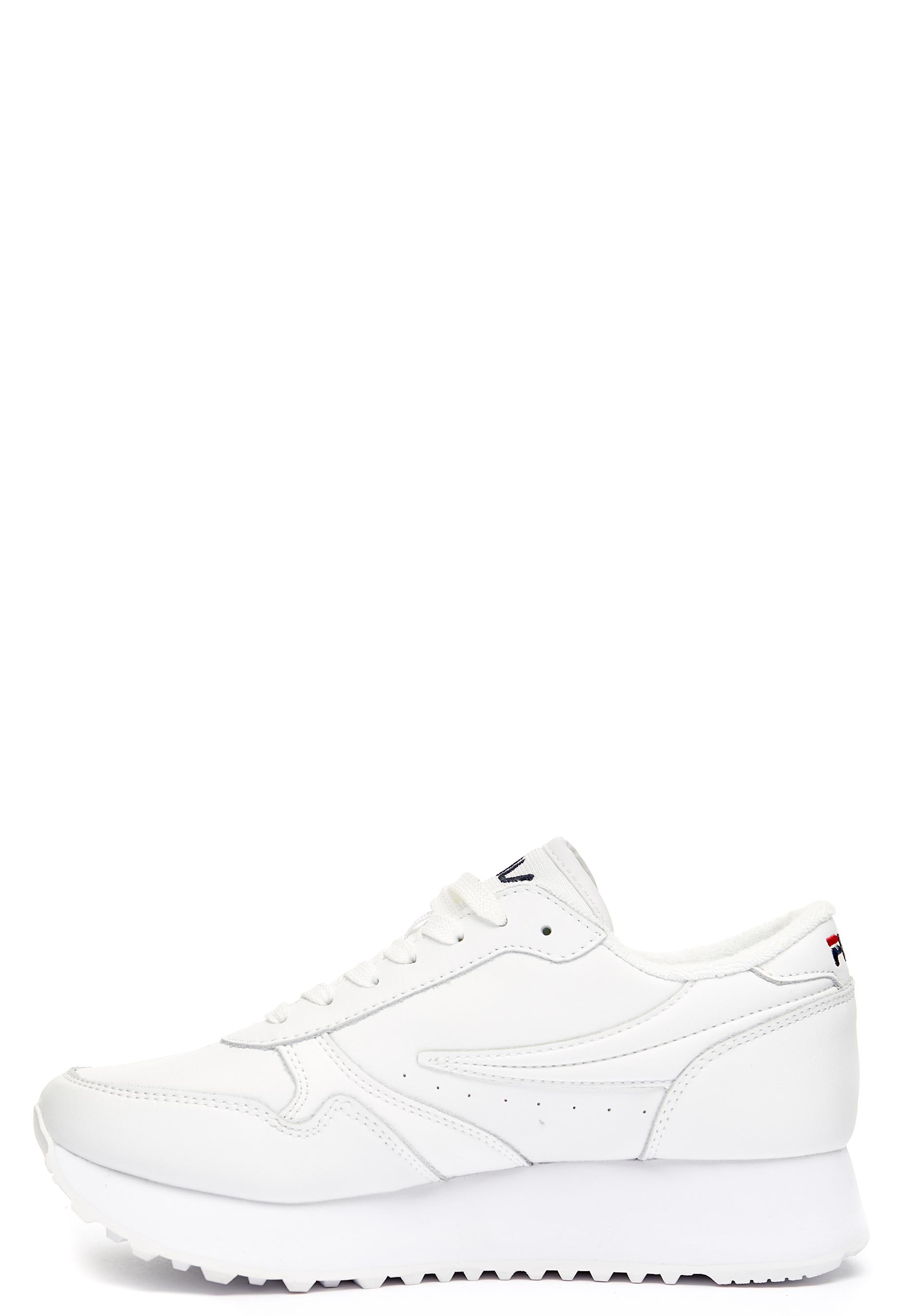 e99381066fe FILA Orbit Zeppa L Shoes White - Bubbleroom