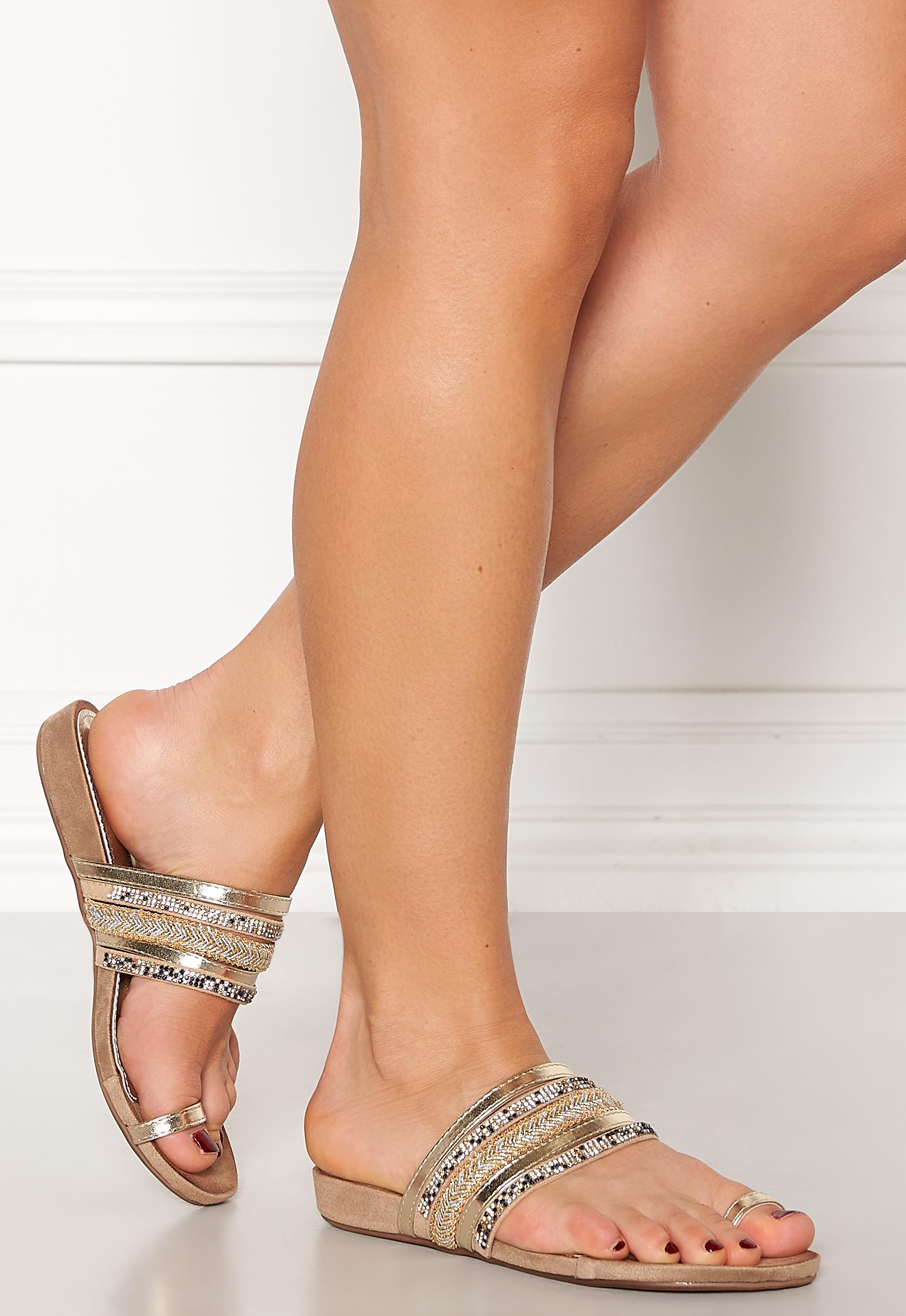 Toe Sandals Platino - Bubbleroom