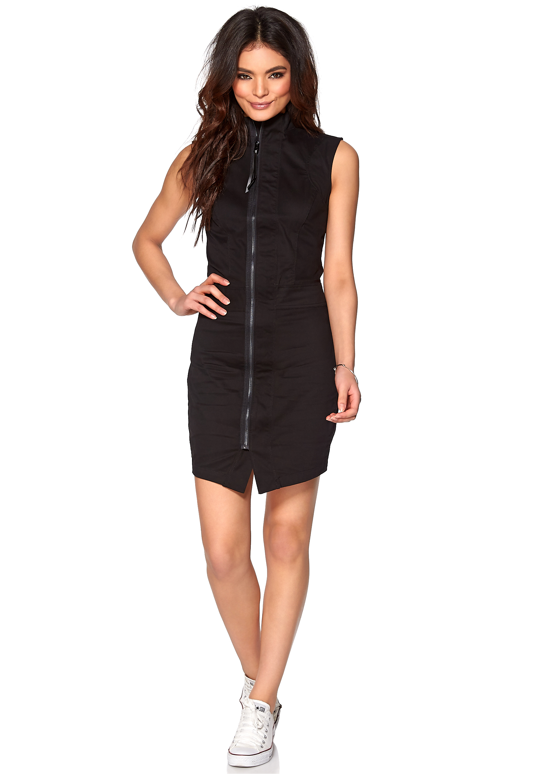 297381db86 G-STAR Noa Slim Dress Black - Bubbleroom