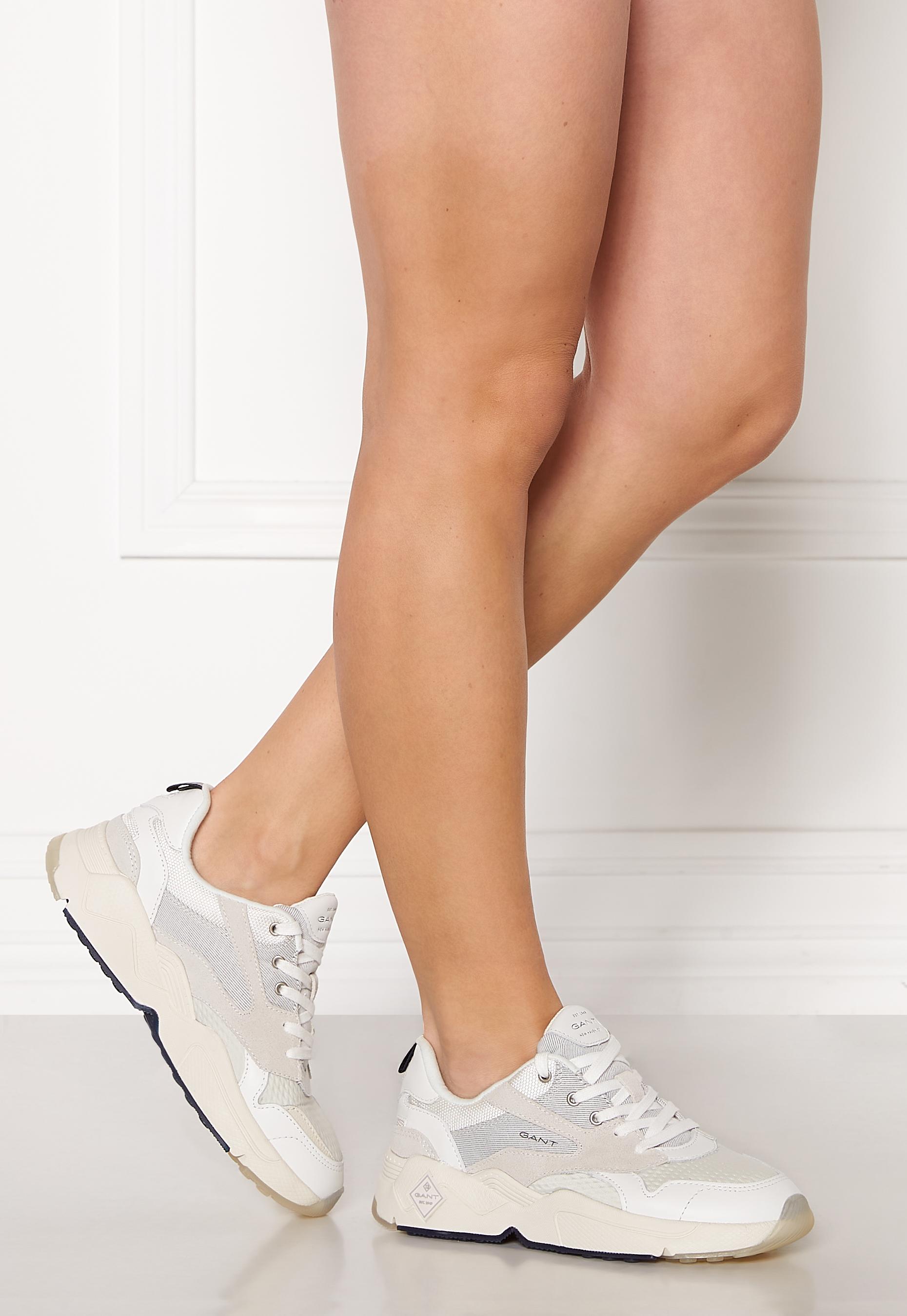 GANT Nicewill Sneaker White - Bubbleroom