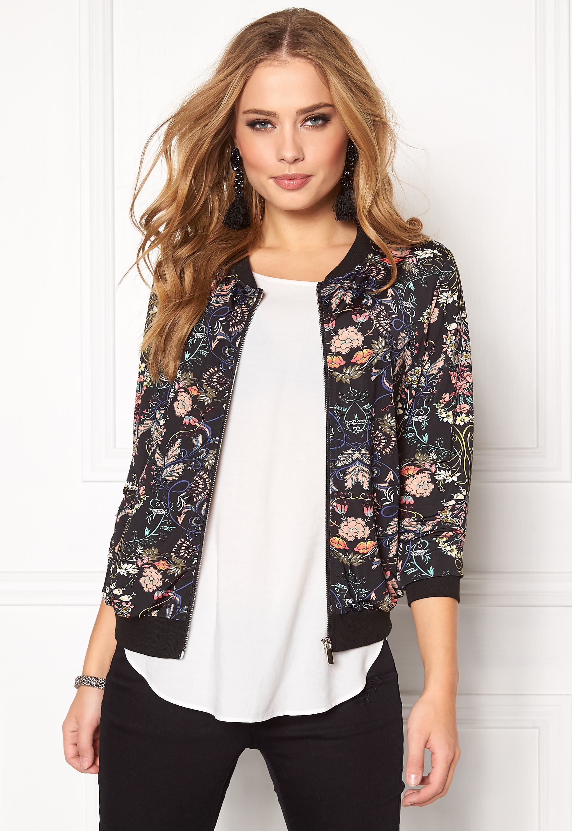 d9d8f19d Happy Holly Hanna Jacket Black / Patterned - Bubbleroom