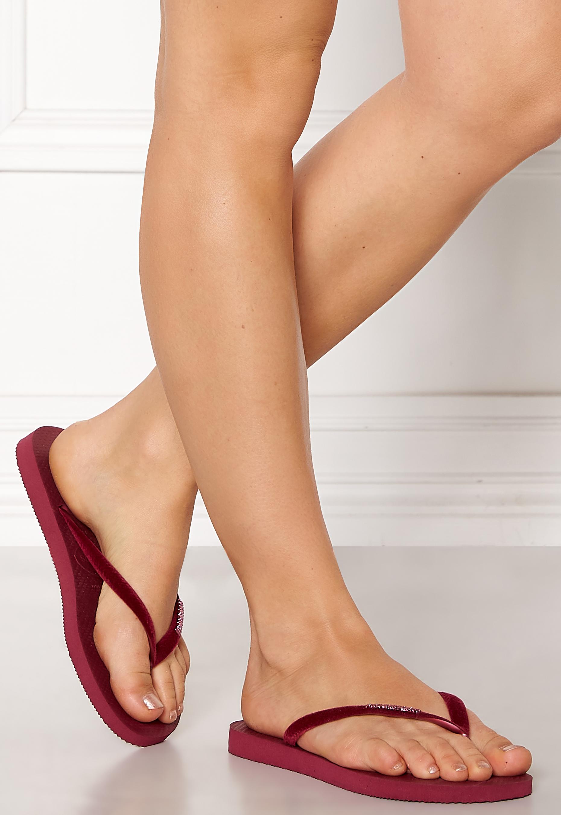 Havaianas Womens Slim Velvet Flip-Flops