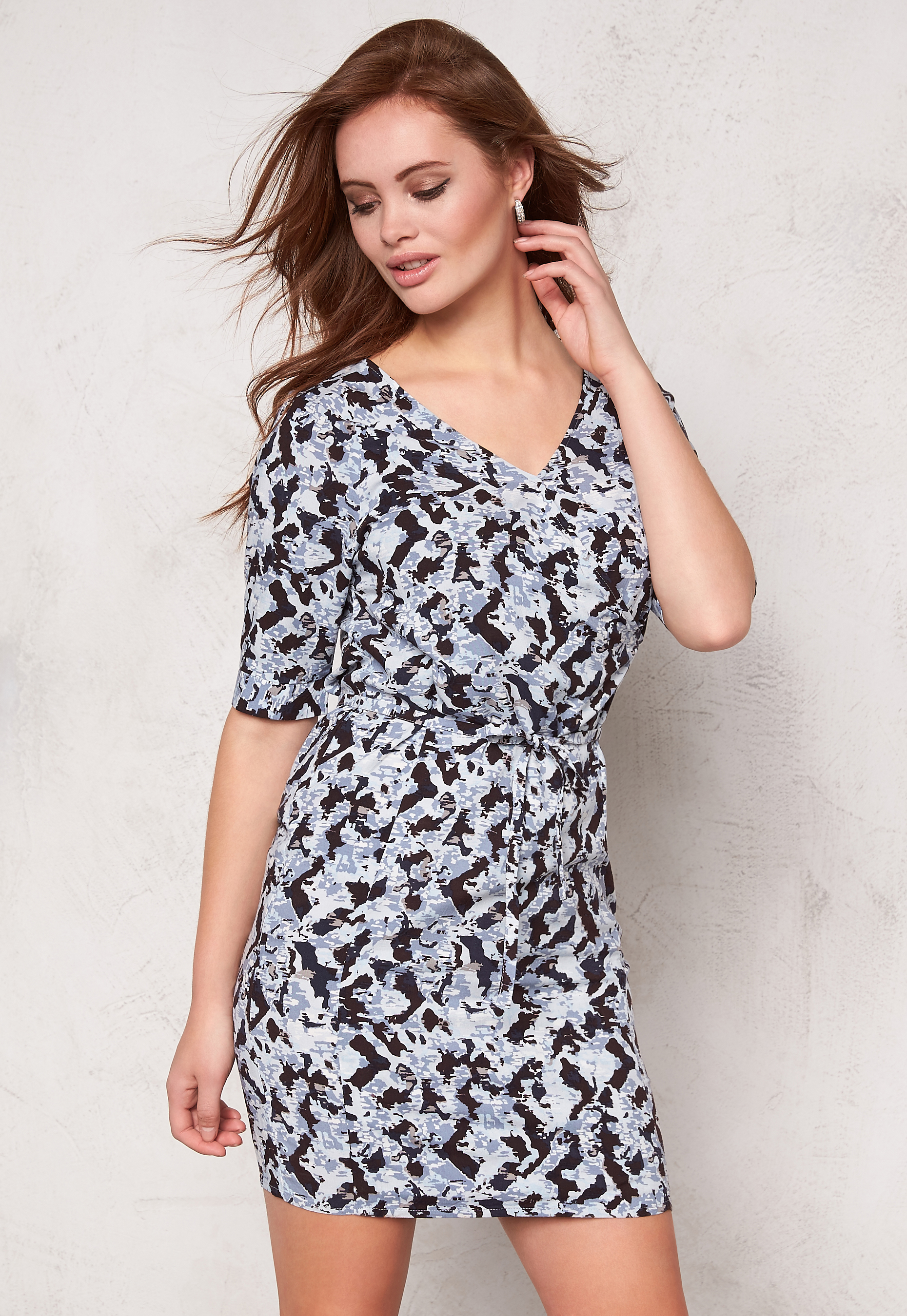 Cashmere 14010 Dress Eva Ichi Blue Bubbleroom zqg18p