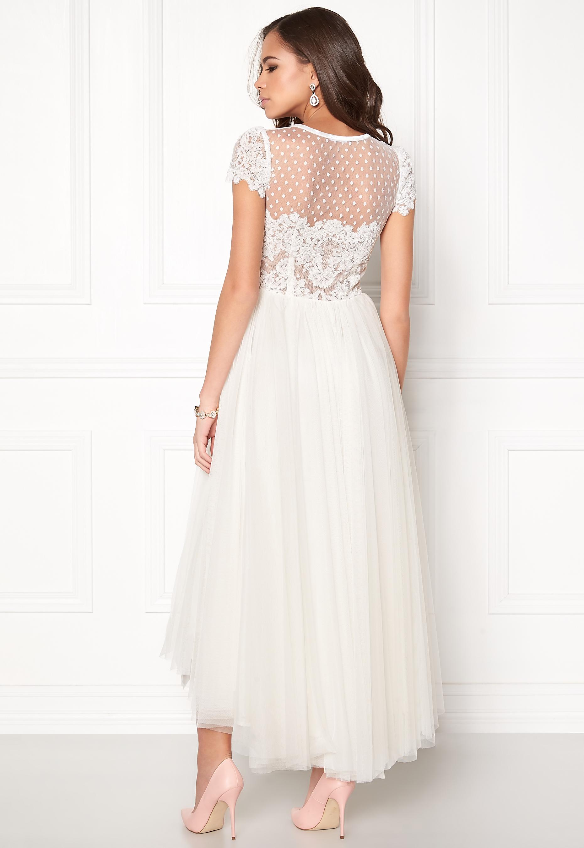 Ida Sjöstedt Caress Dress Ivory - Bubbleroom 6105a093d02f6