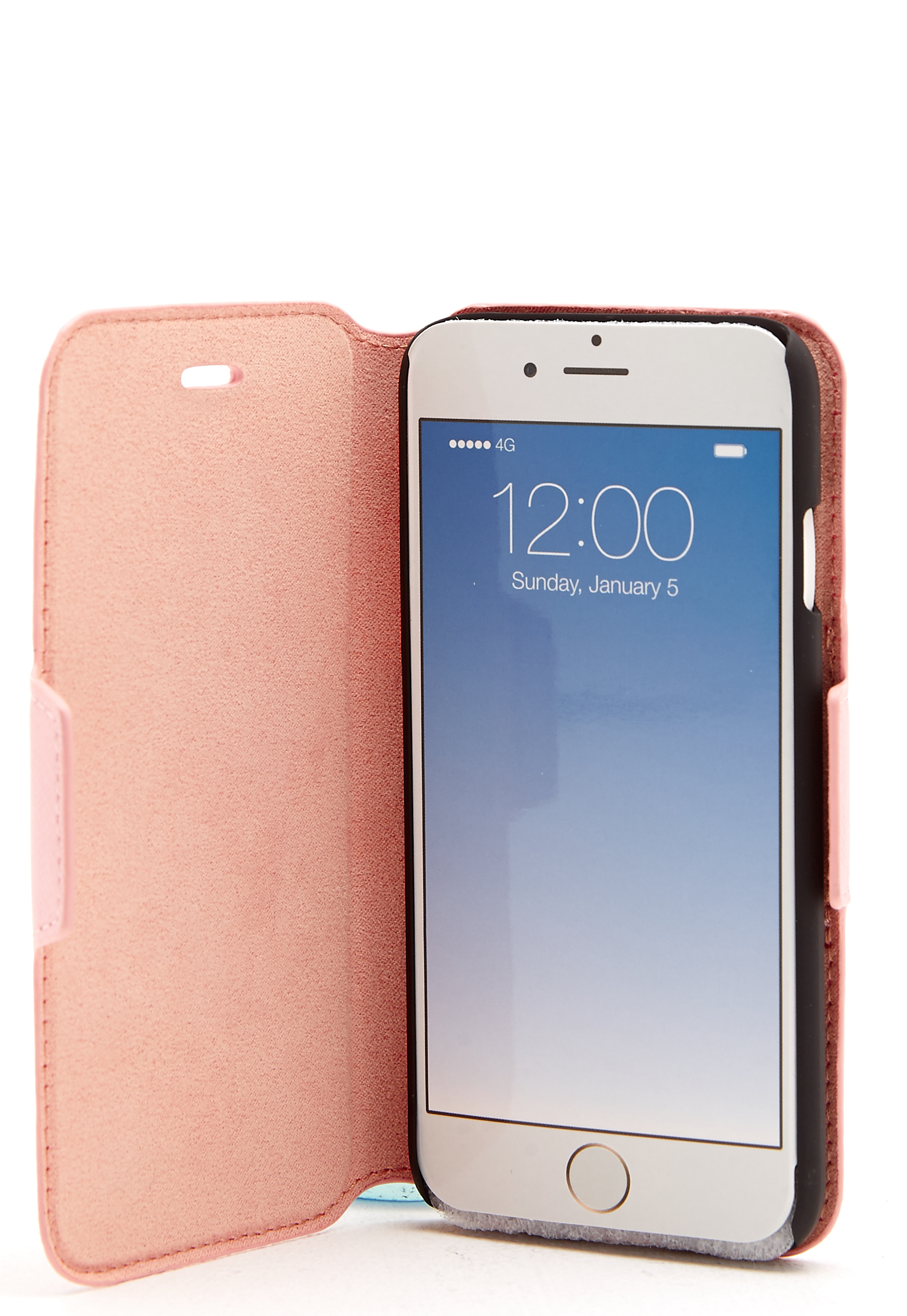ideal of sweden fashion wallet iphone pink bubbleroom