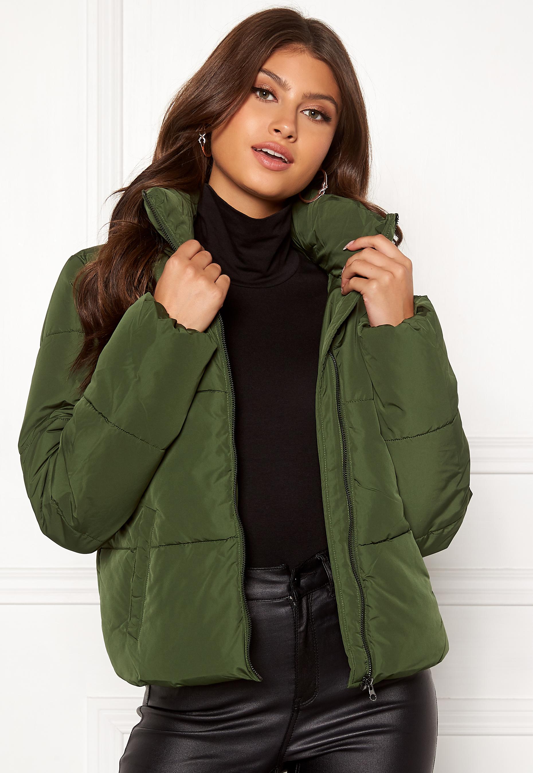 Short Padded Jacket Yong Rifle Green Jacqueline De Erica VUzqSMpG