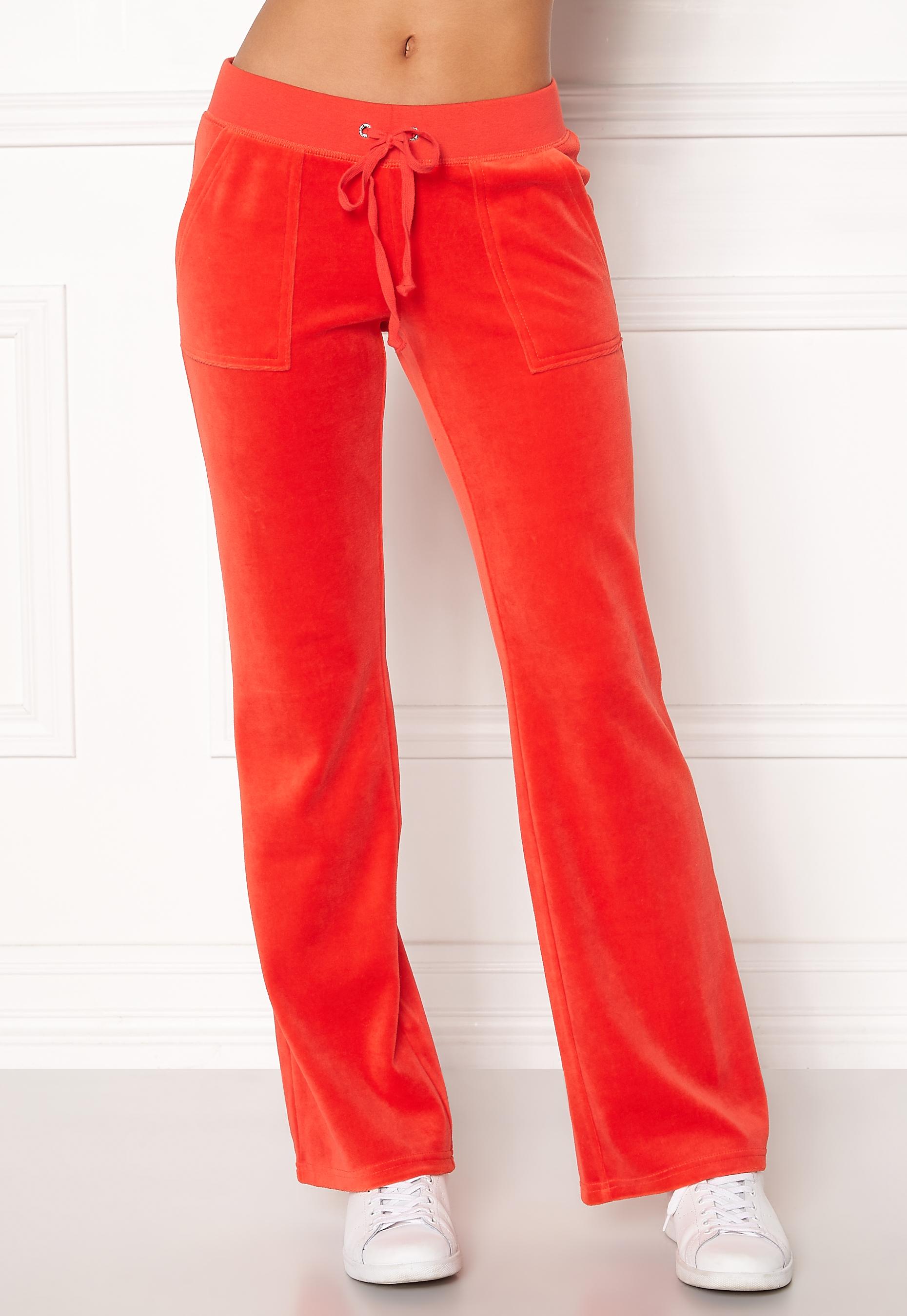 b226bcce Juicy Couture Velour Del Rey Pant City Rouge - Bubbleroom