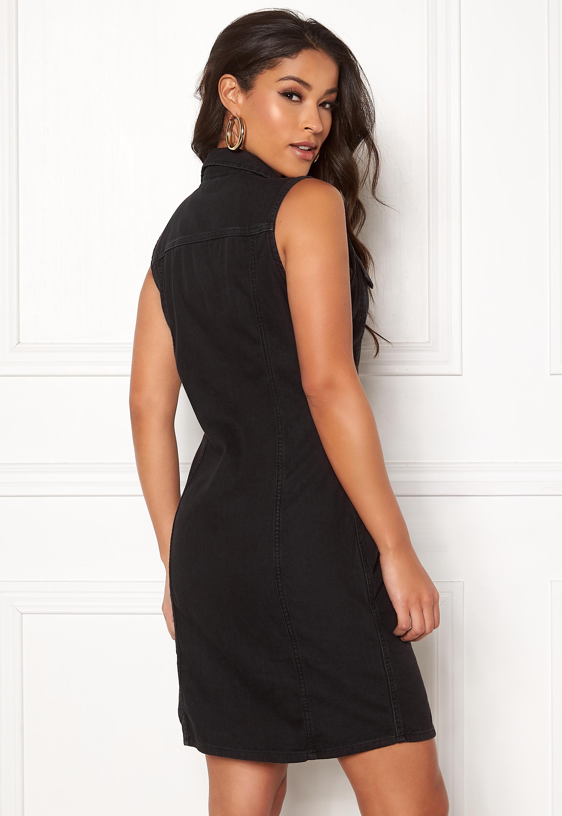 dfd5bb44a LEVI'S SL Short Aubrey Dress 0001 Shiny Happy Peo - Bubbleroom