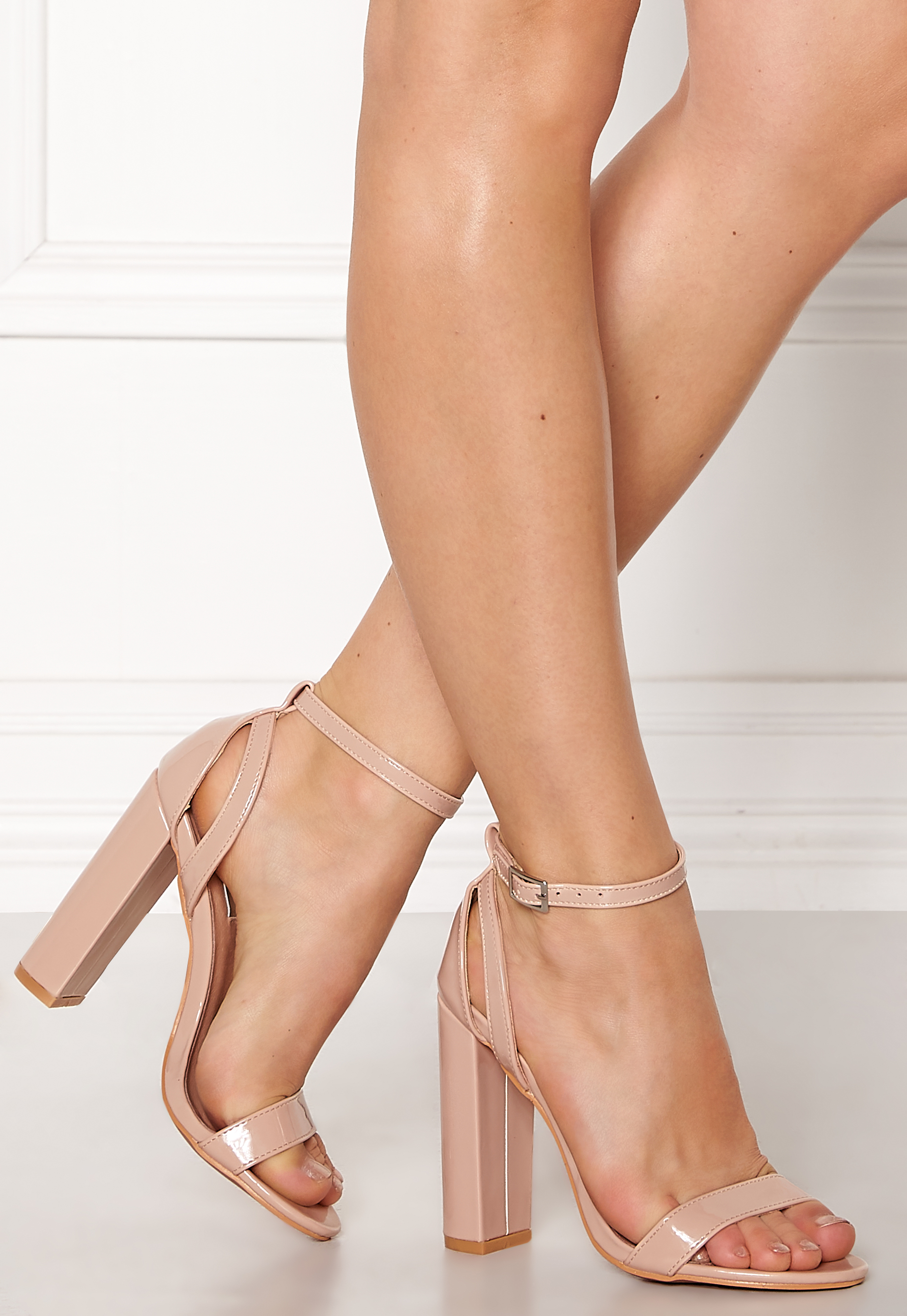 Ariellie nude high heel sandal heels online fashion store