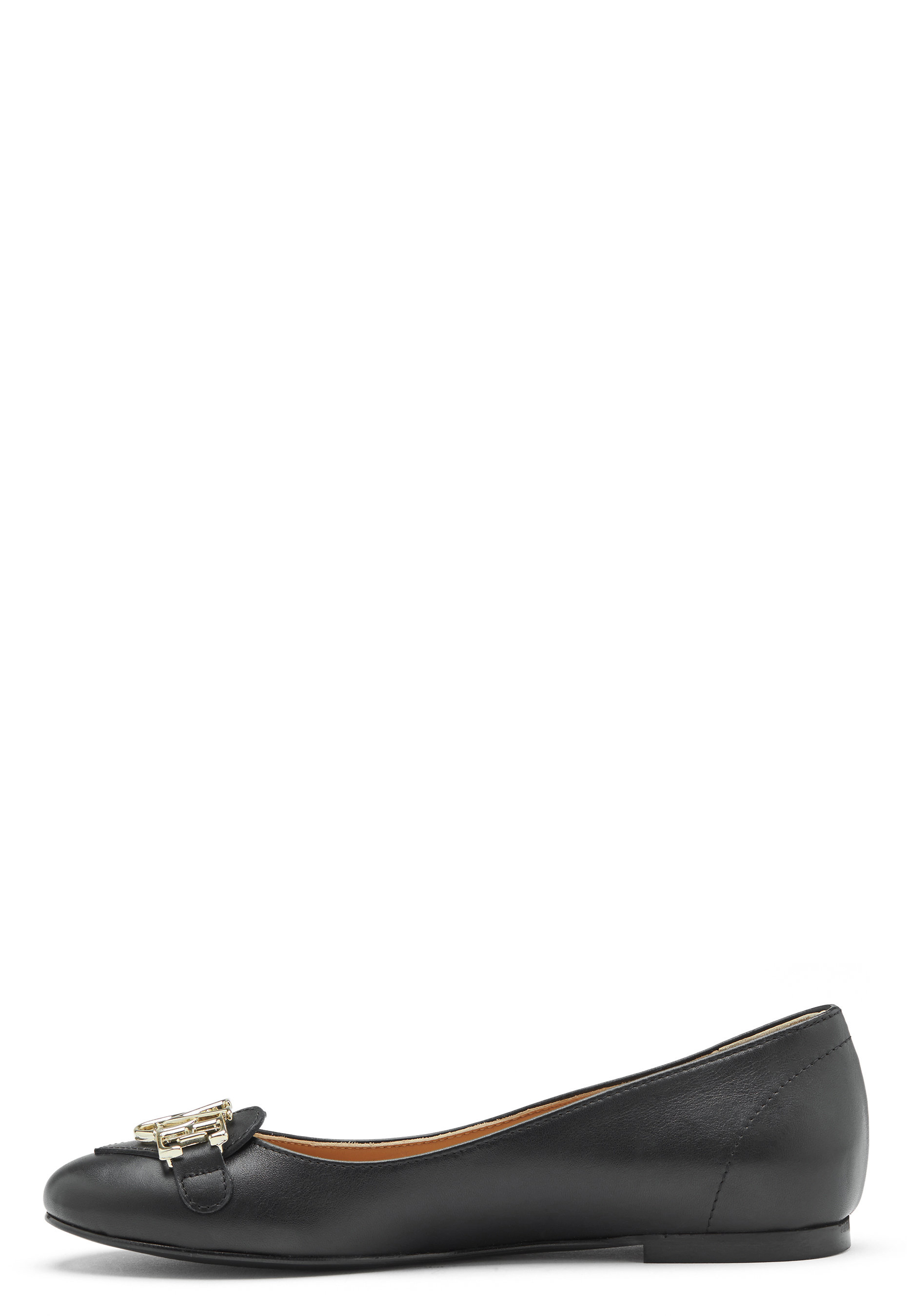 cheap for discount a804e 3dc2a Love Moschino Ballerina Leather Shoes JA11061C05JA0 - Bubbleroom