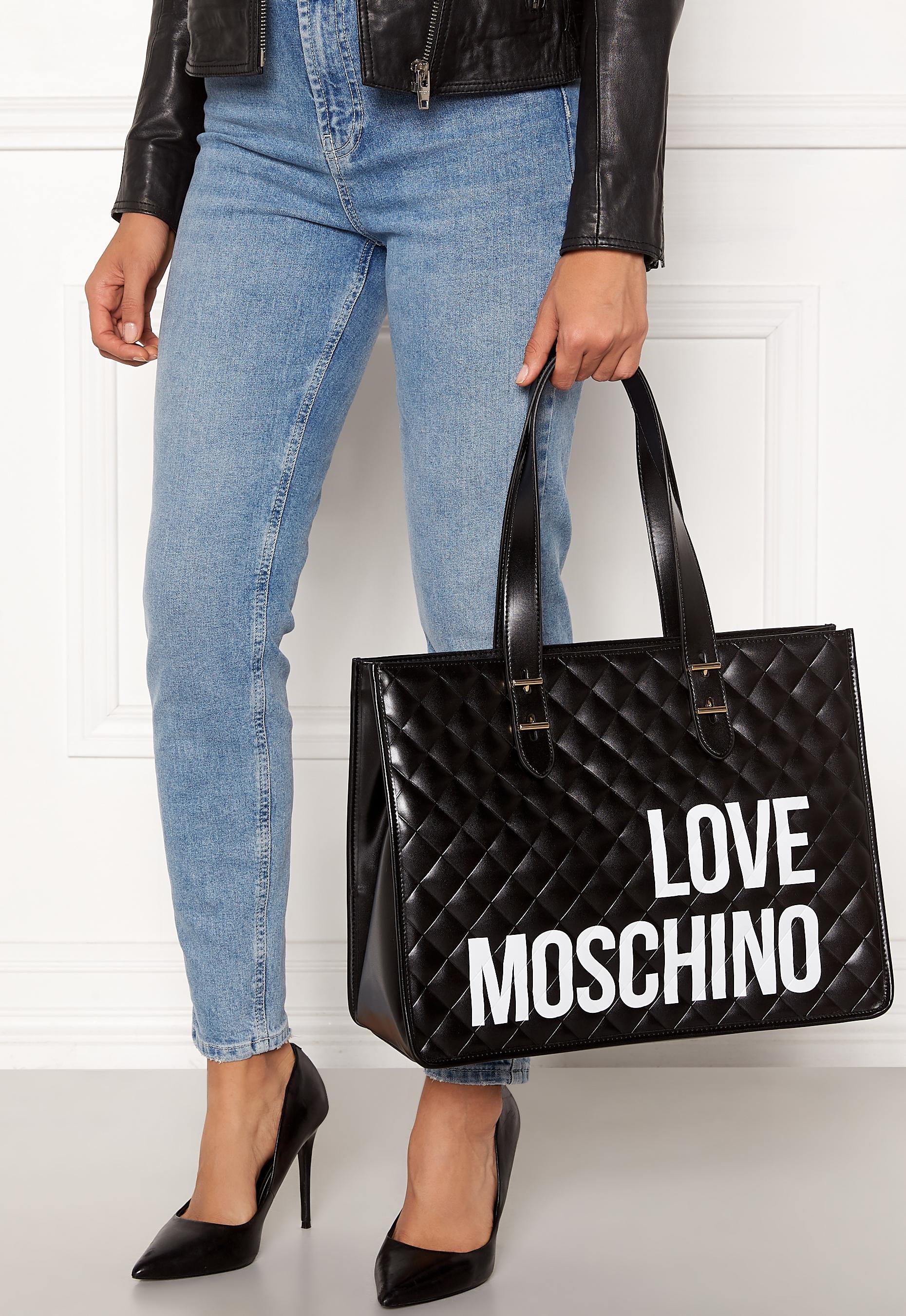 Love Moschino I Love Shopping Bag 000 Black Bubbleroom