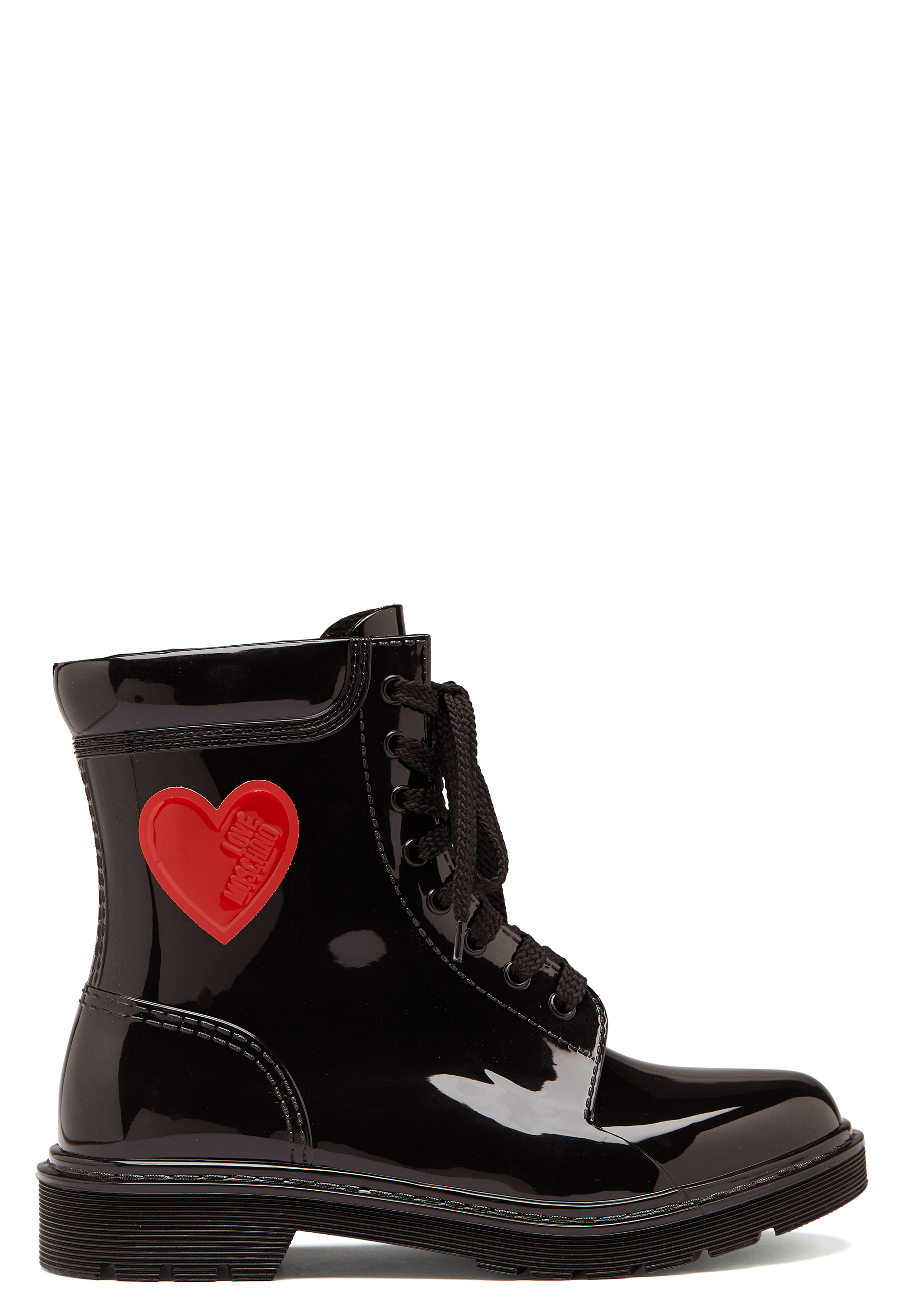 Love Moschino Moschino Rain Boot Black Bubbleroom