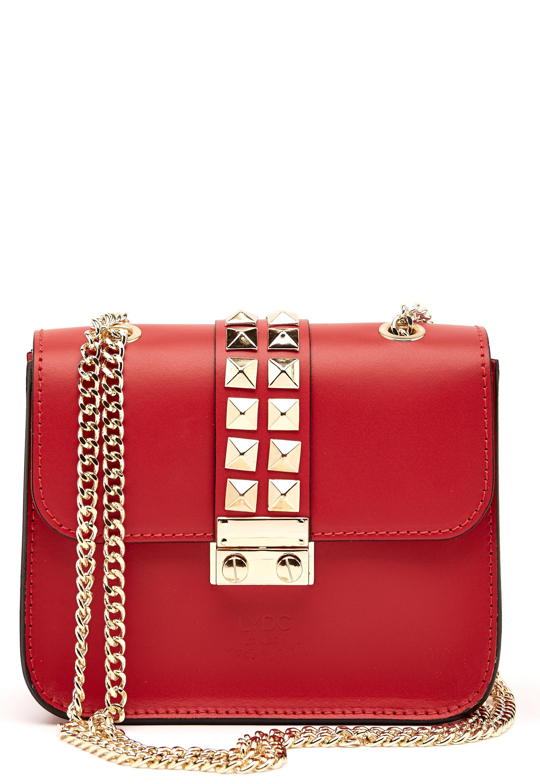 LYDC London Crossbody Bag Red - Bubbleroom 544507a83f