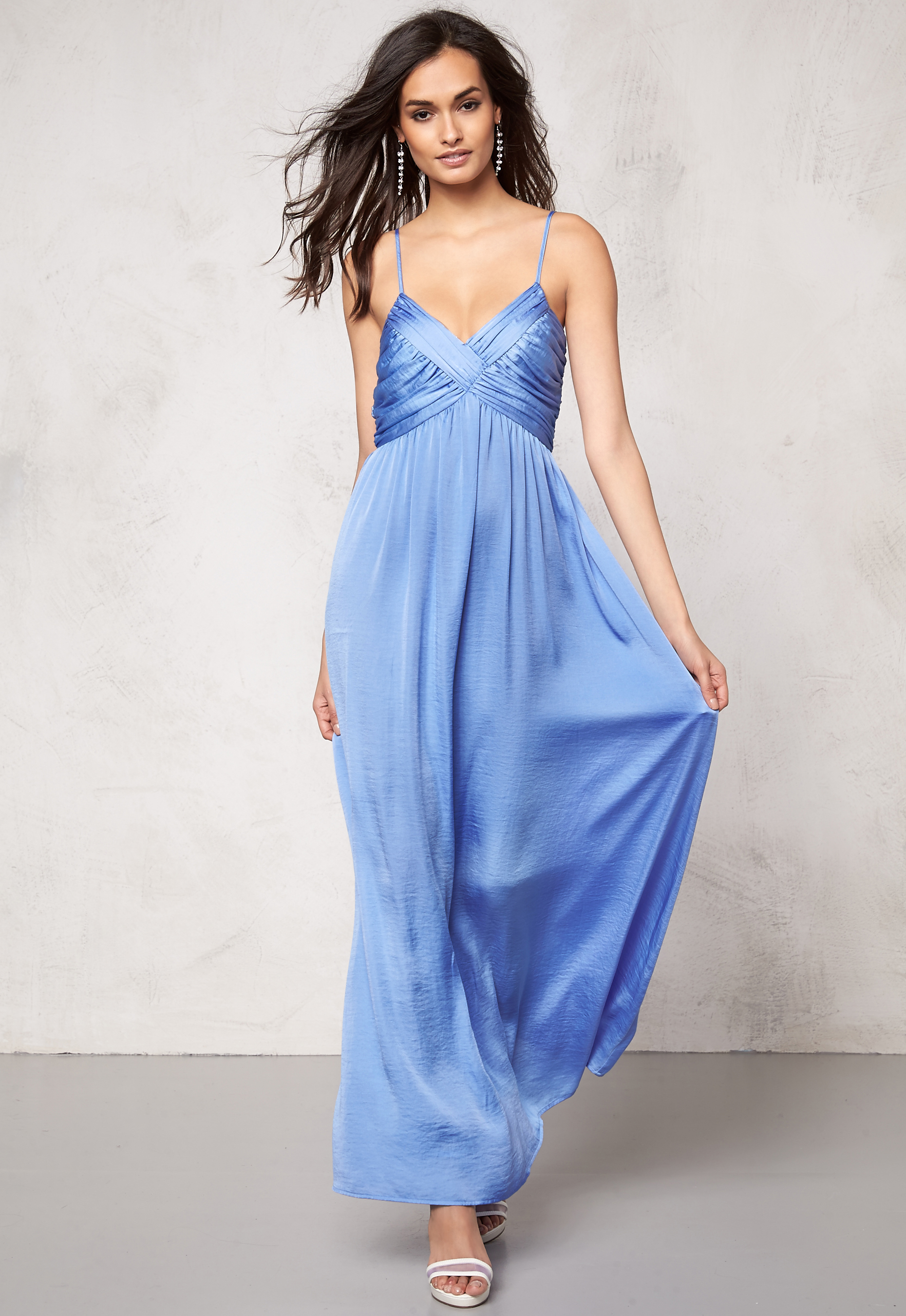 161dfb5ad16c Make Way Aimee Dress Light blue - Bubbleroom