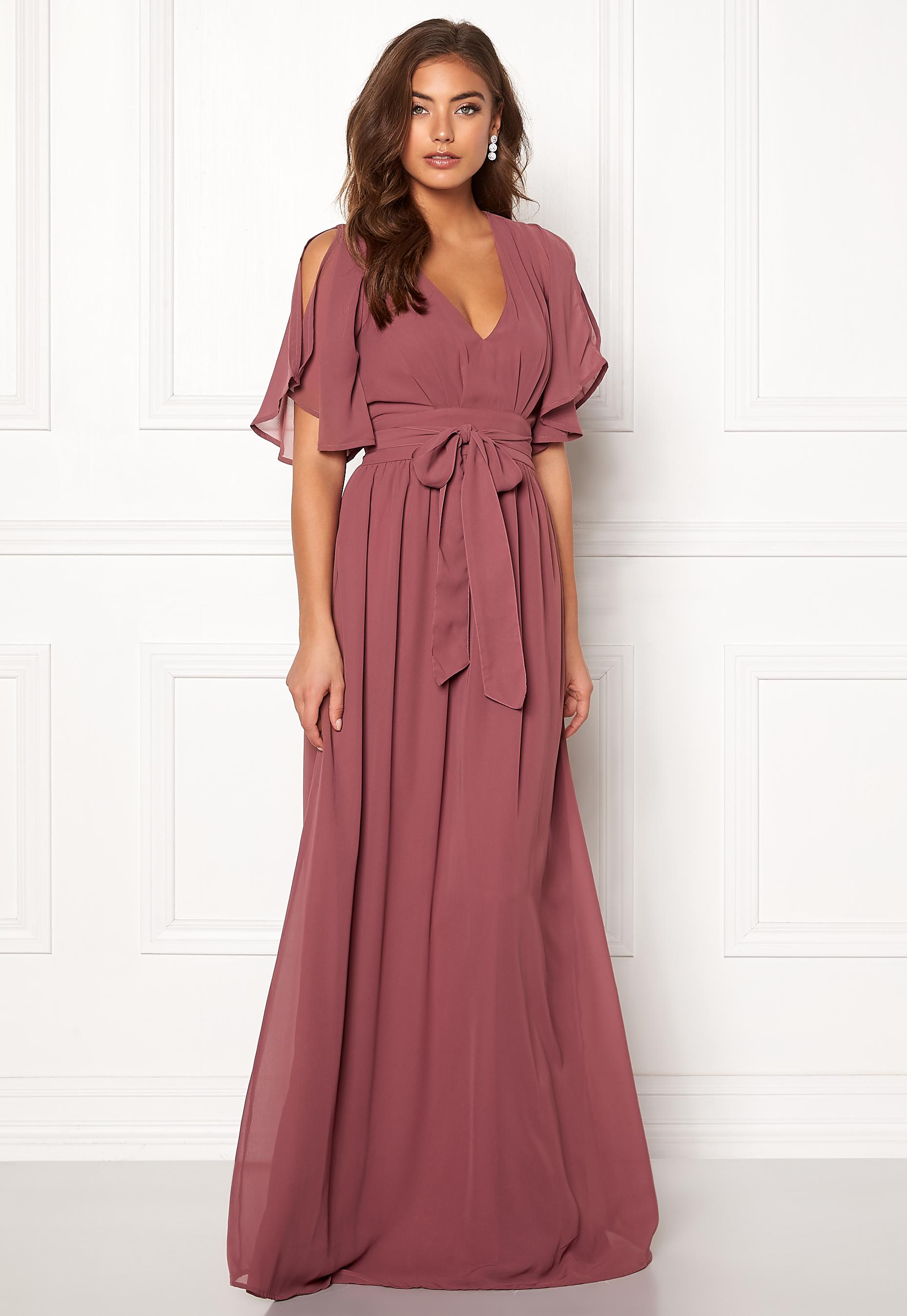 Make Way Isobel dress Old rose - Bubbleroom d2070654ec