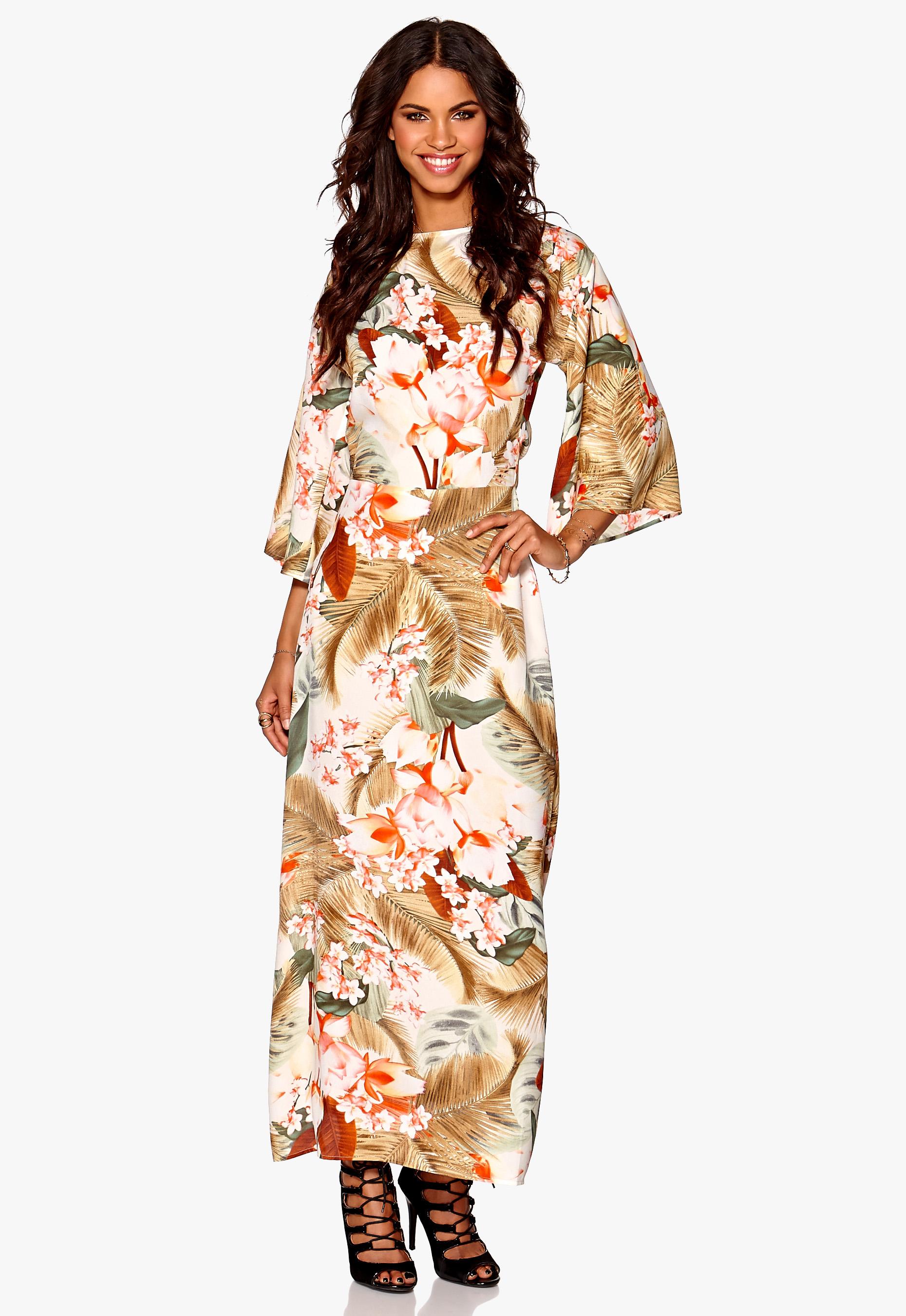 13176937dcc46 Make Way Siena Dress Offwhite / Multi / Floral - Bubbleroom