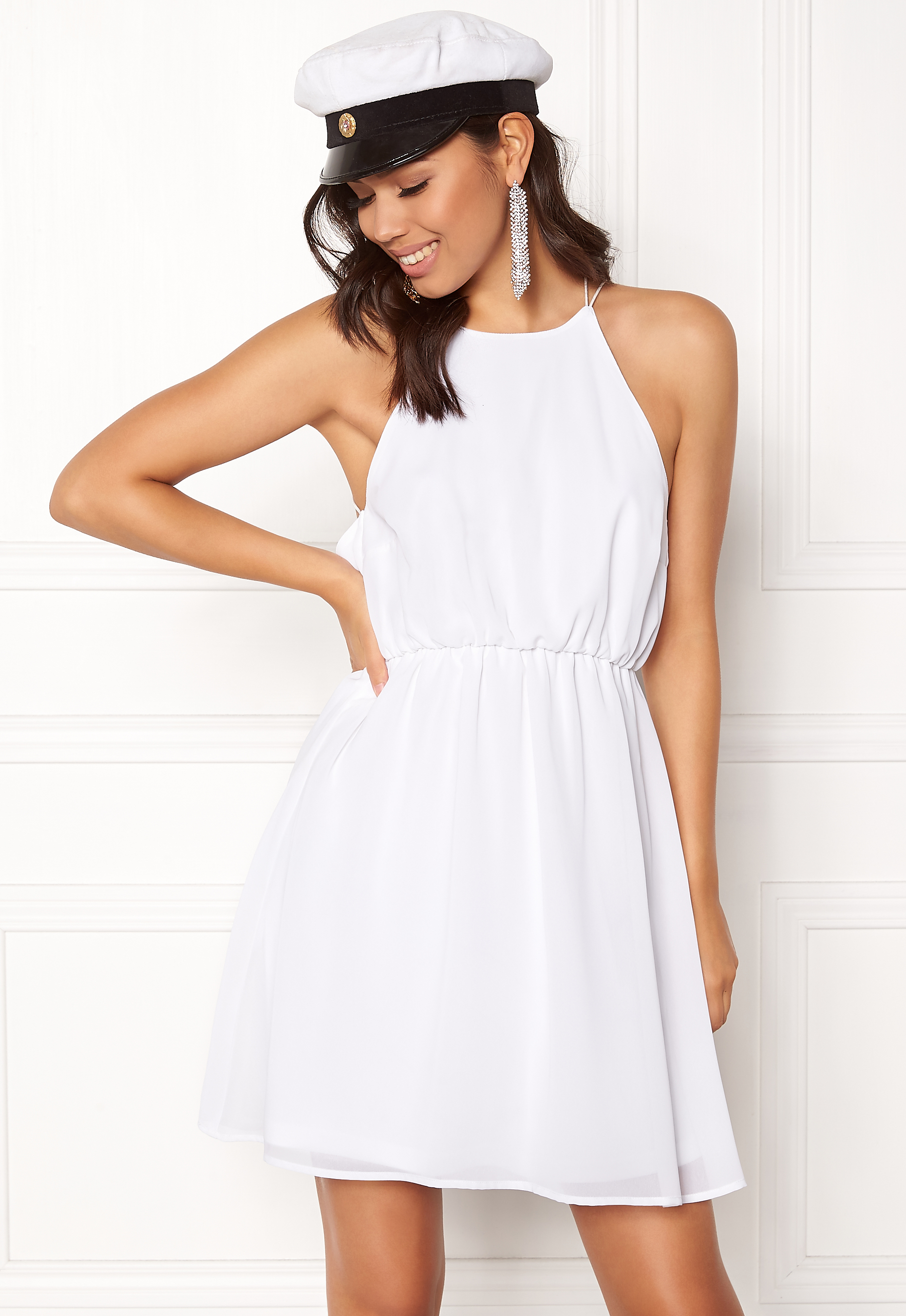 Make Way Sierra Dress White - Bubbleroom