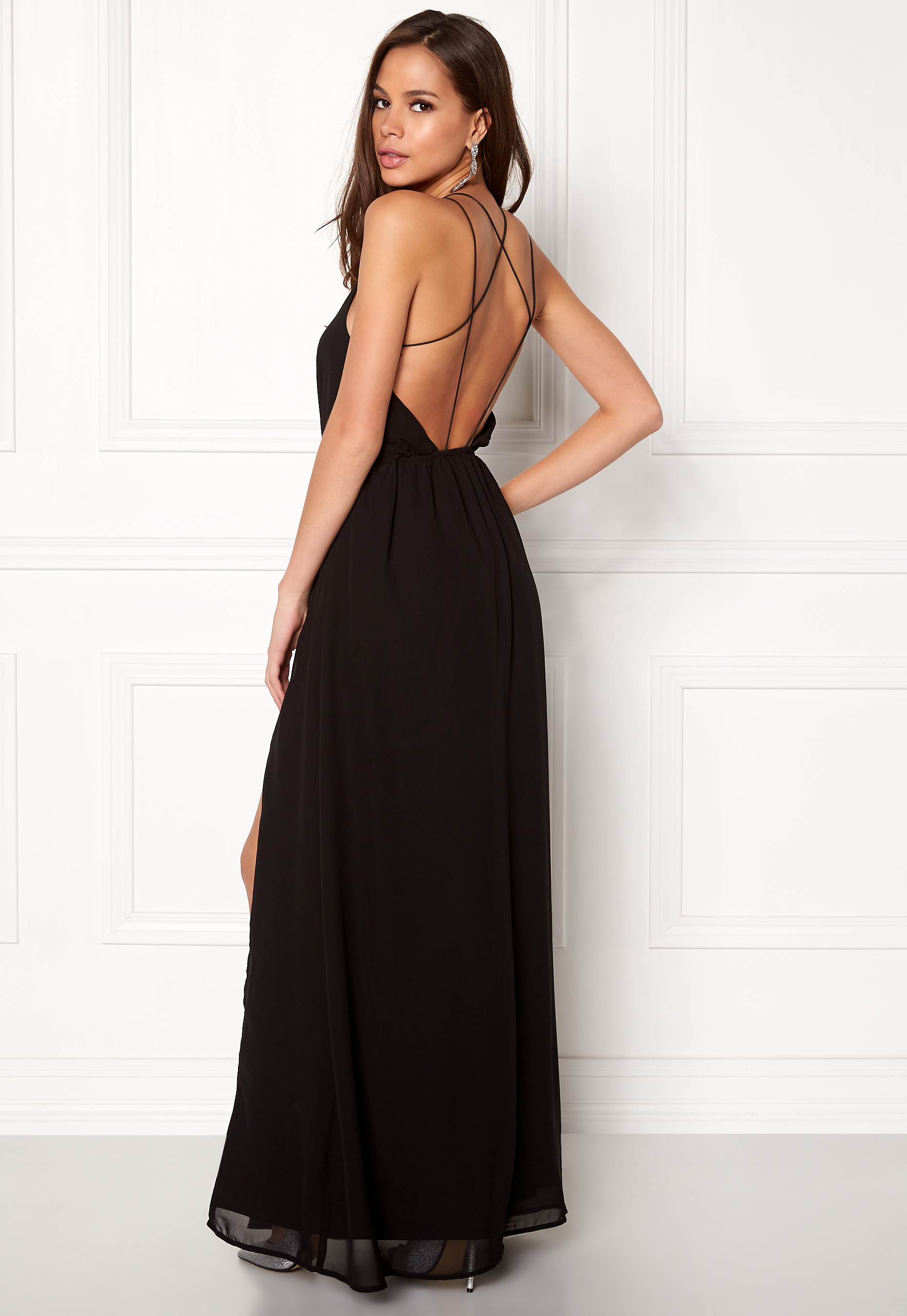 Make Way Sierra Prom Dress Black - Bubbleroom
