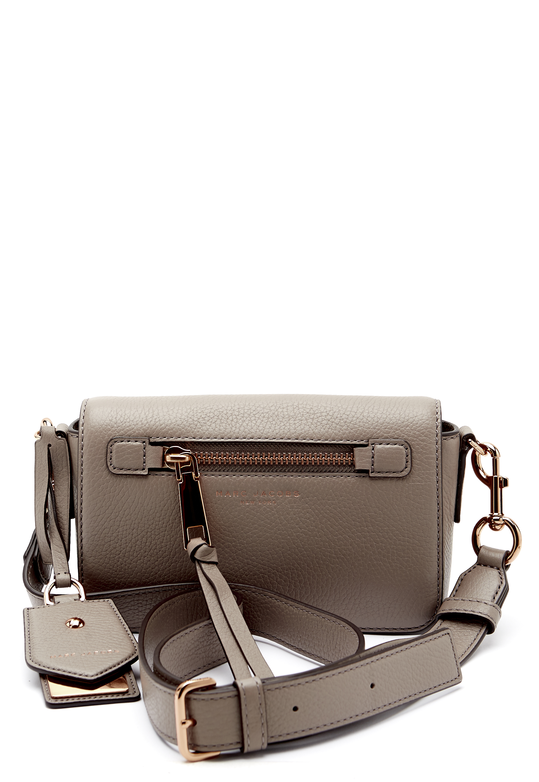 shop for official great discount clearance Marc Jacobs Recruit Crossbody Bag Mink - Bubbleroom