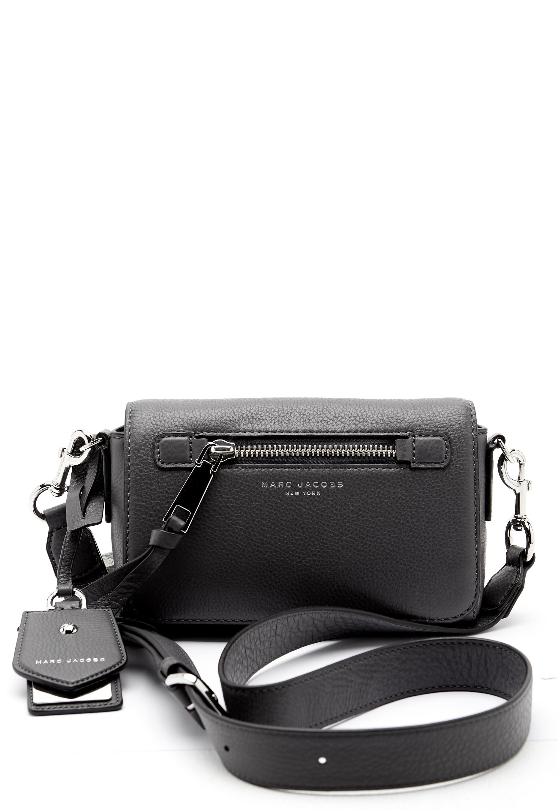 3fcbaa0b5cbf Marc Jacobs Recruit Crossbody Bag Shadow - Bubbleroom