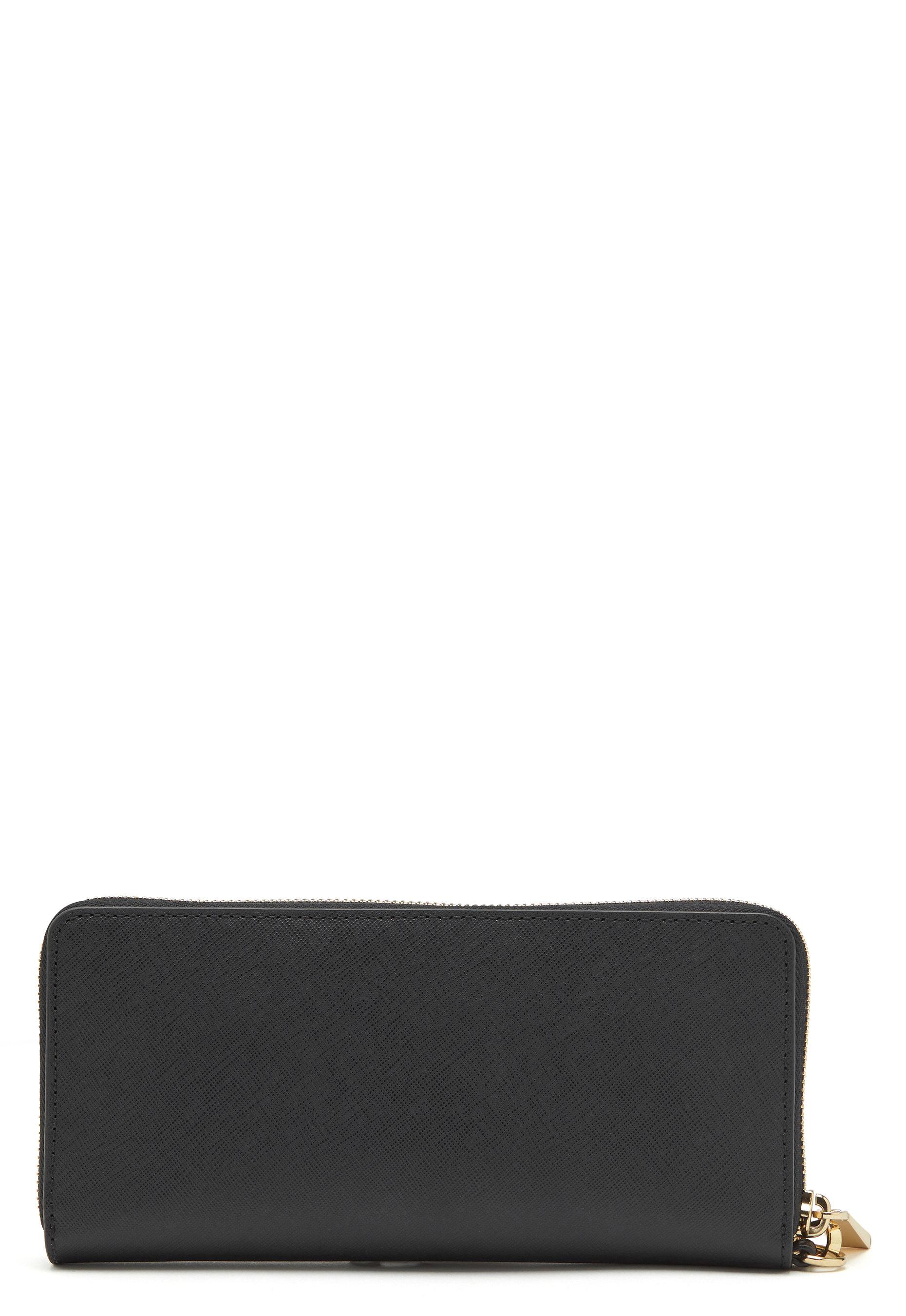 3e953b05f05a Michael Michael Kors Travel Continental Wallet 001 Black - Bubbleroom
