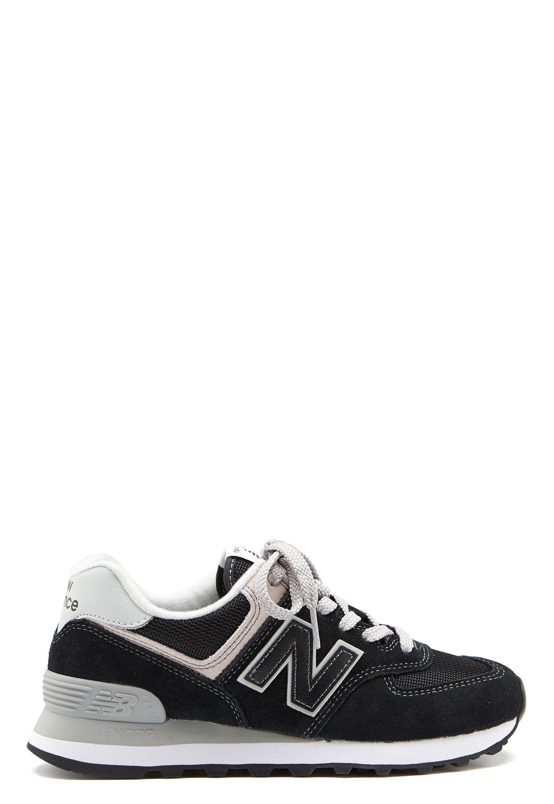 brand new db0e5 ce518 New Balance WL574 Sneakers Black/White - Bubbleroom