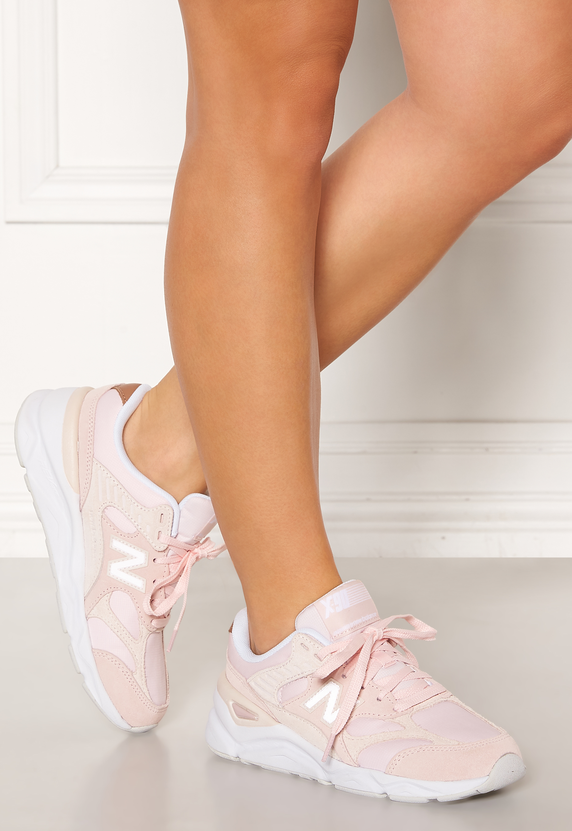 on sale look out for good quality New Balance WSX90 Sneakers Oxygen Pink/Light Li - Bubbleroom