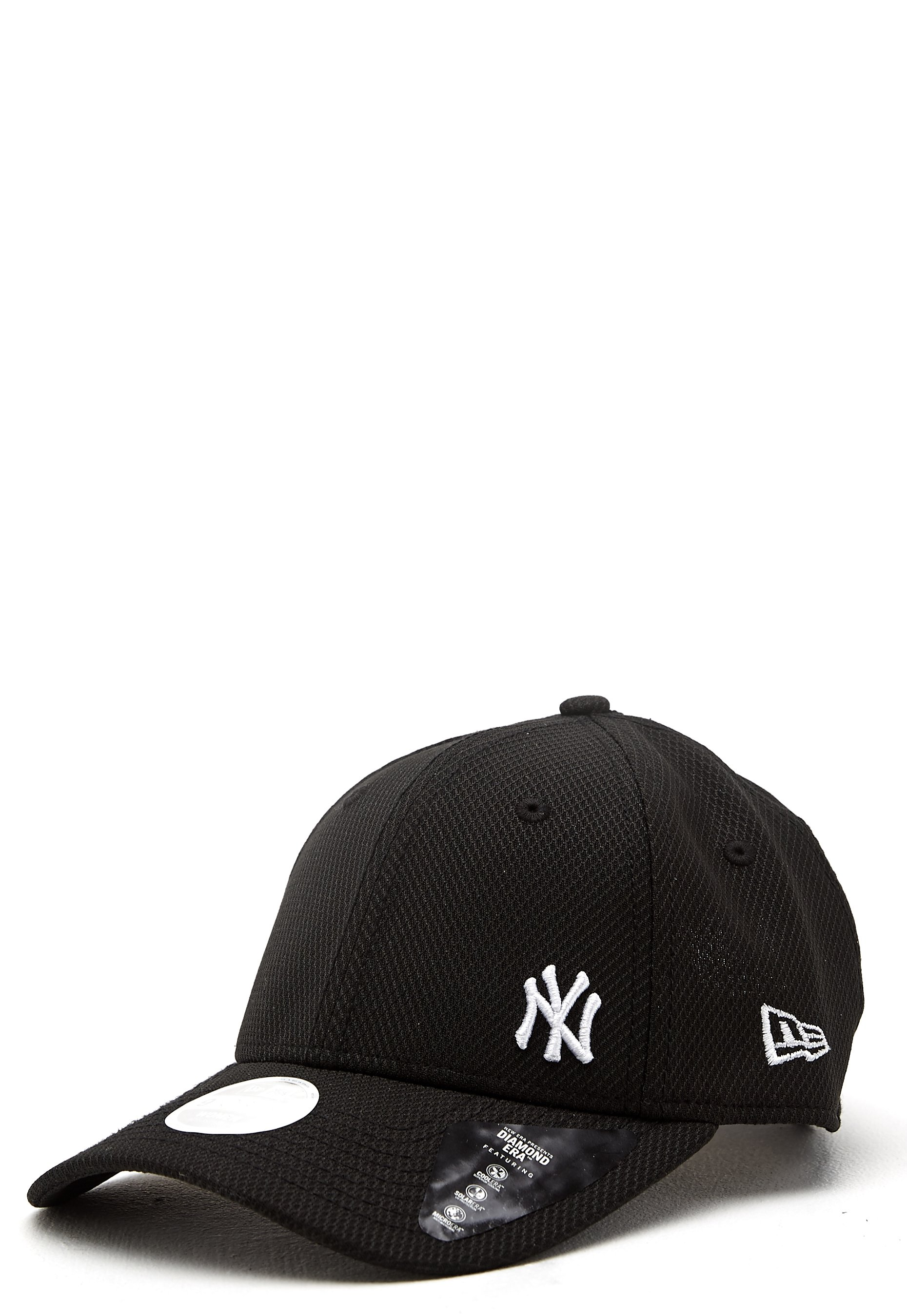 5e1e8f3d New Era 940 Diamond Cap Black/White NEYYA - Bubbleroom