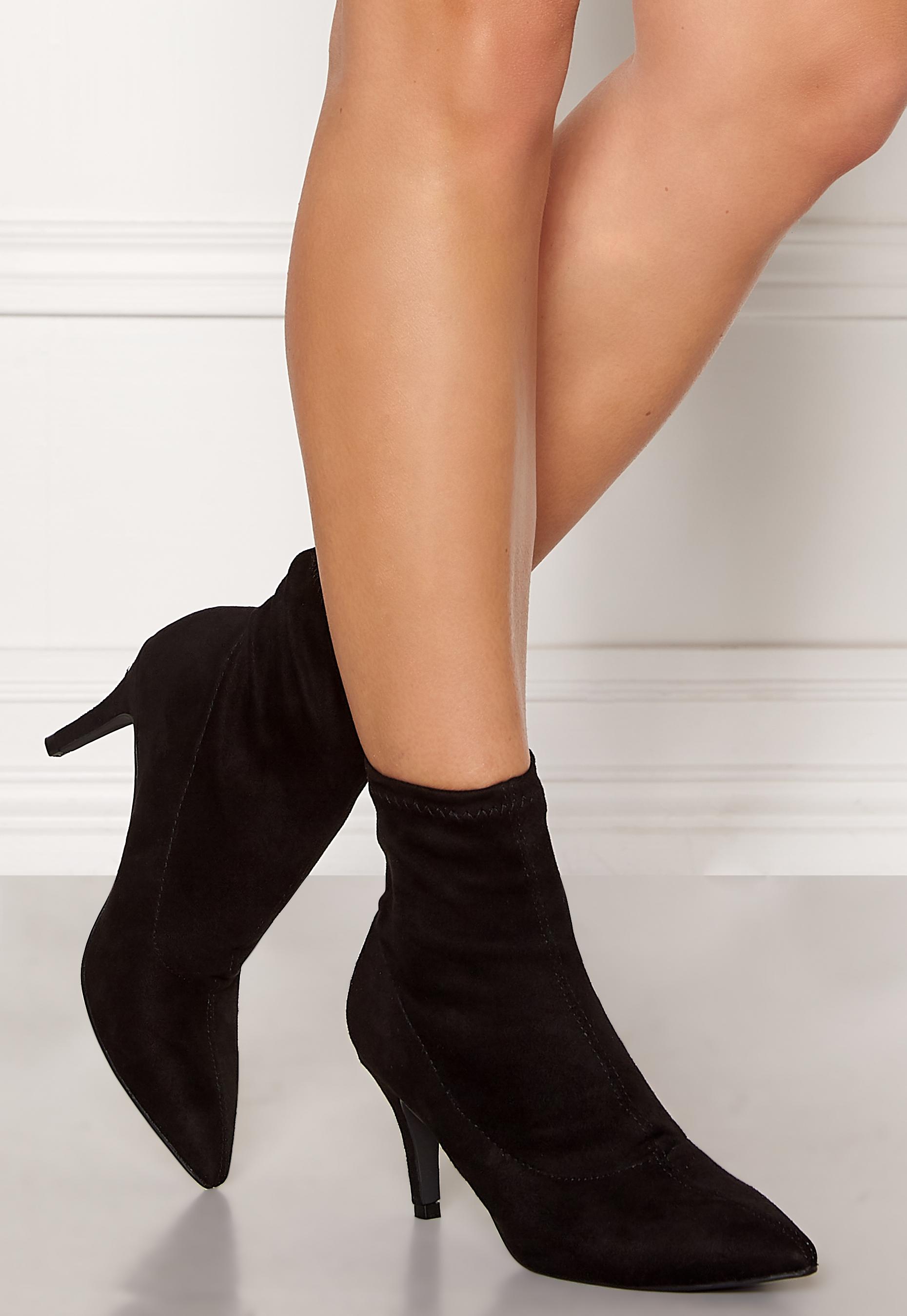a080bfe613c New Look Beanie Sock Kitten Boots Black - Bubbleroom