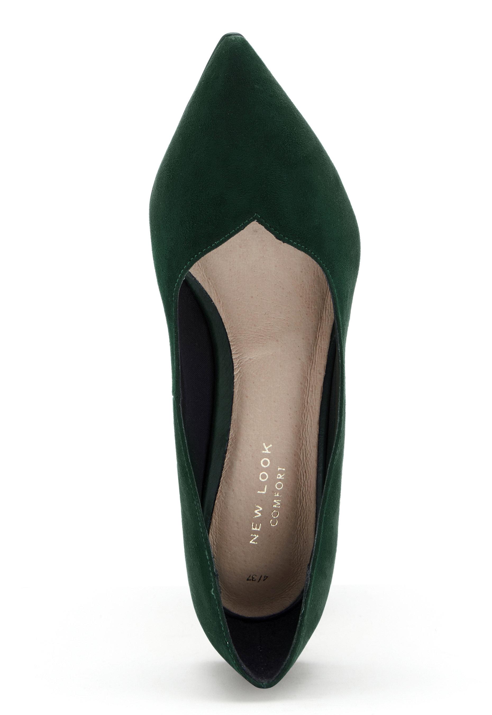 New Look Skal Shoes Dark Green - Bubbleroom