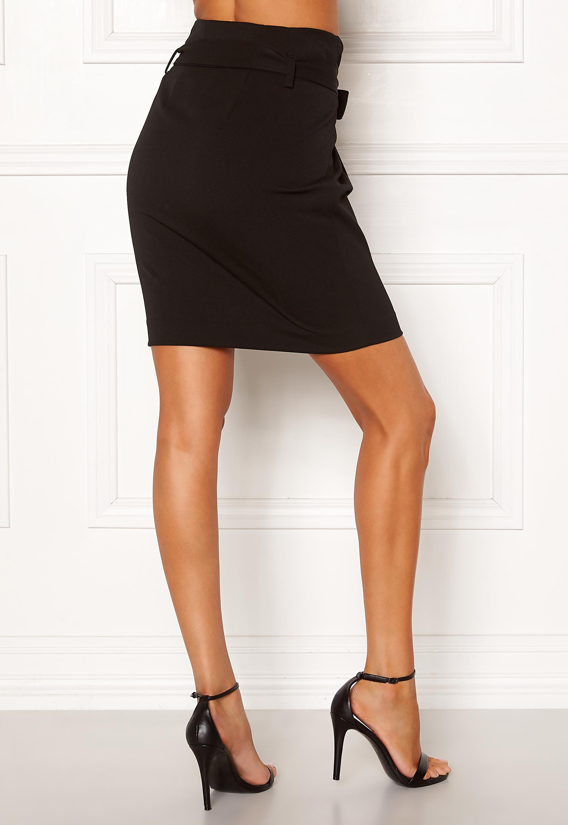 c9f32b27 OBJECT Lisa Abella Mini Skirt Black - Bubbleroom