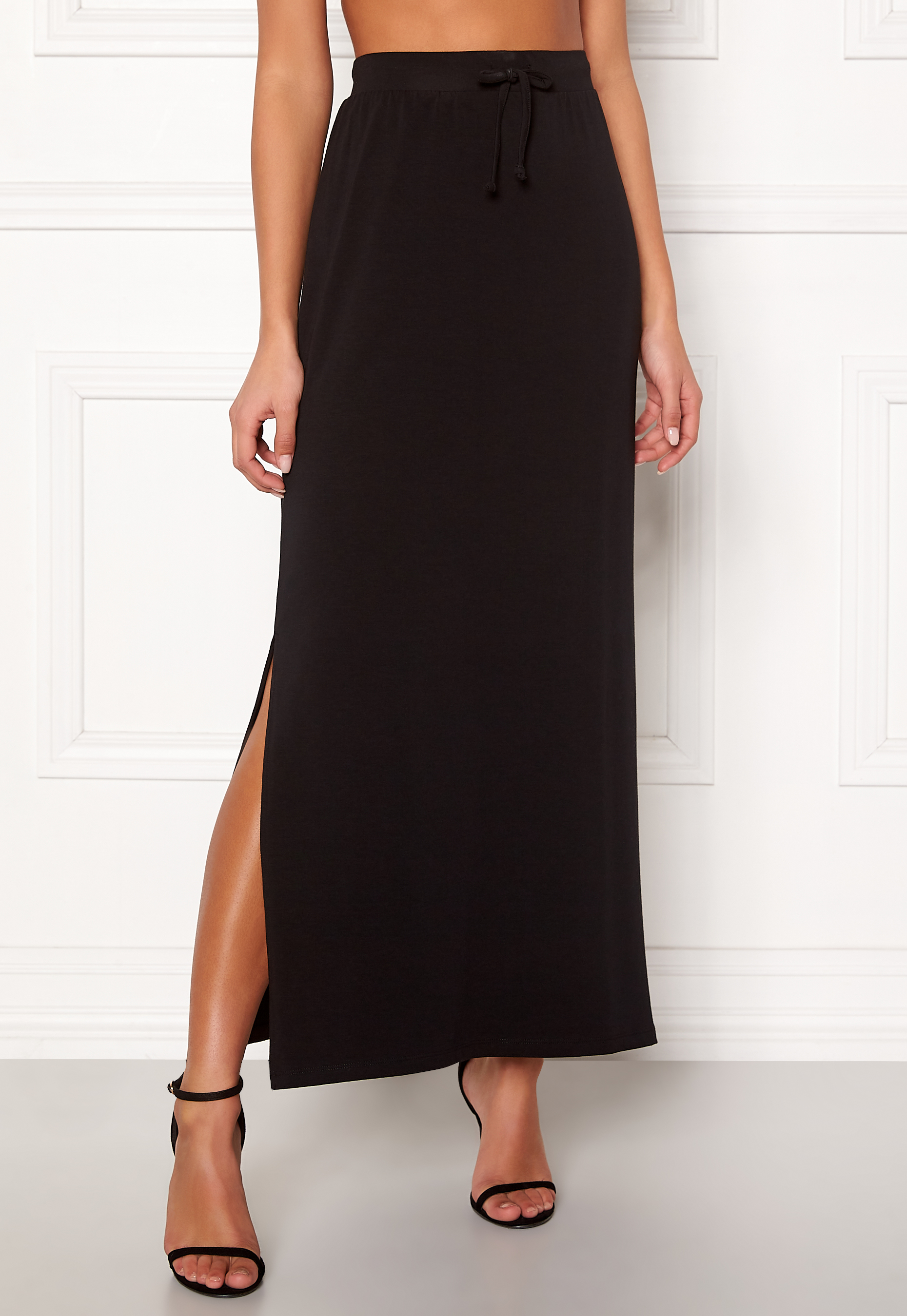 cfa982520 OBJECT Stephanie Maxi Skirt Black - Bubbleroom