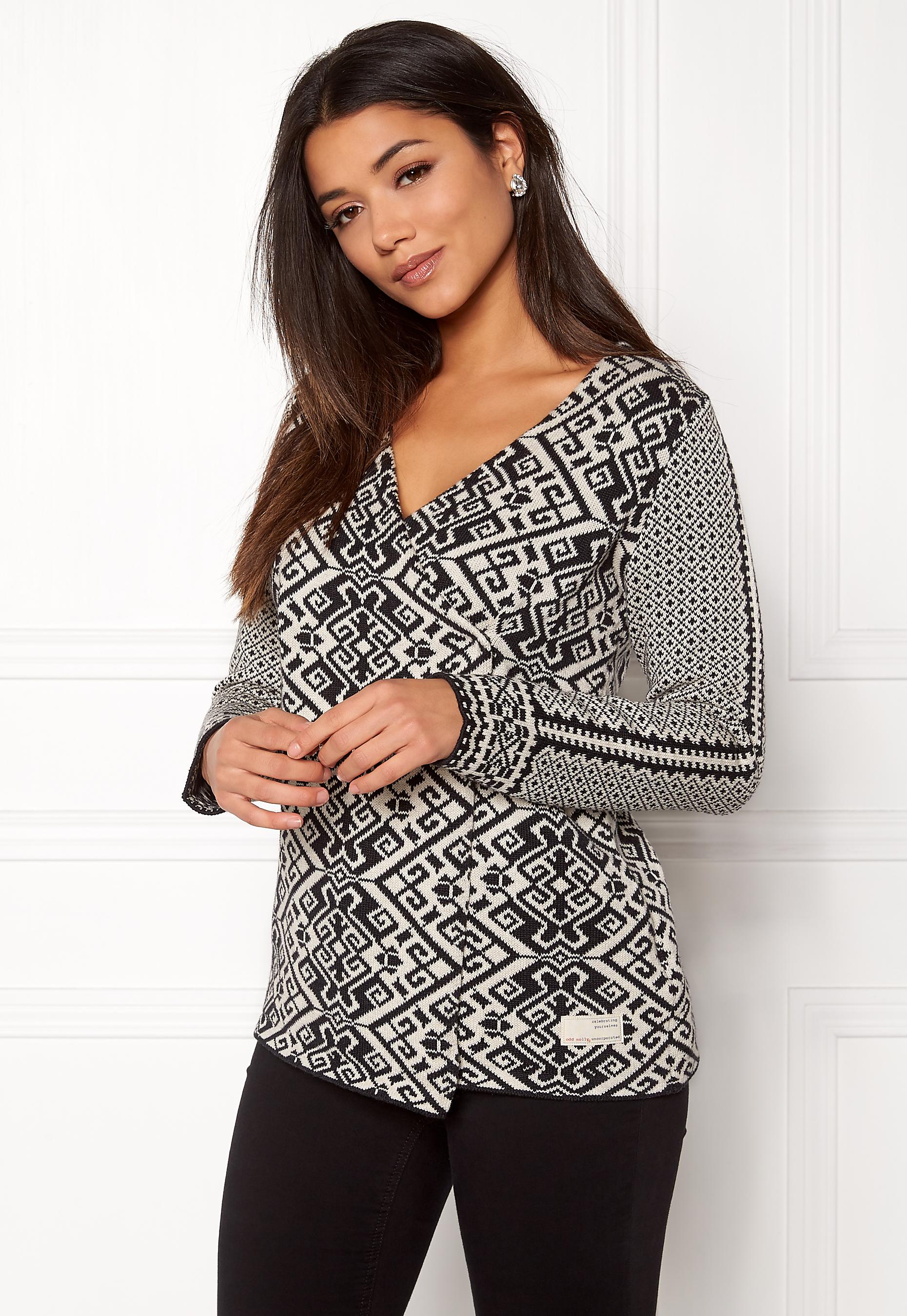 odd molly lovely knit black