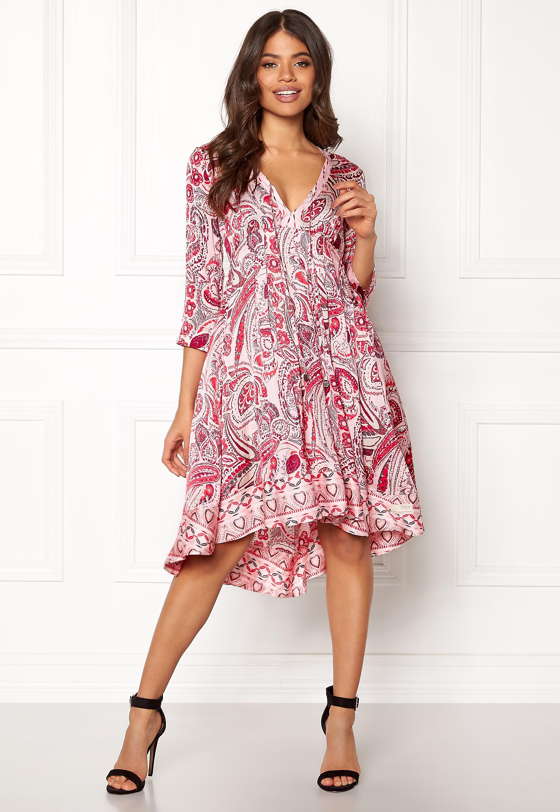 a5840d806697 Odd Molly Esemble Dress Soft Rose - Bubbleroom