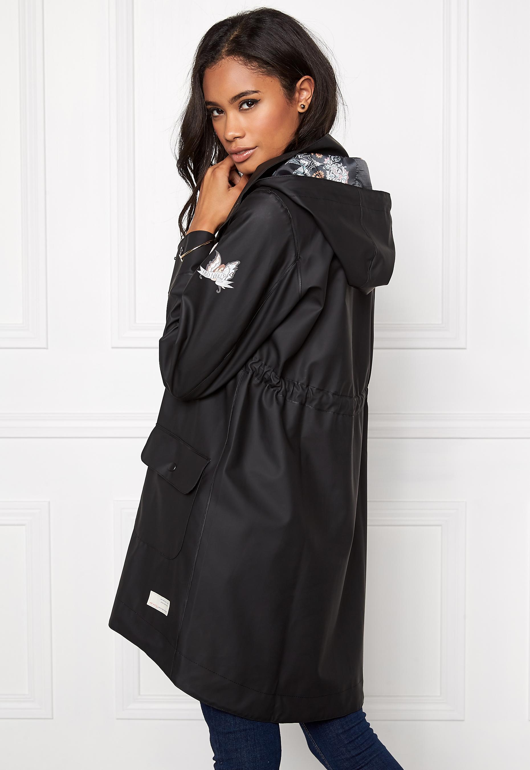 a6df1687 Odd Molly Monsoon rainjacket Almost Black - Bubbleroom