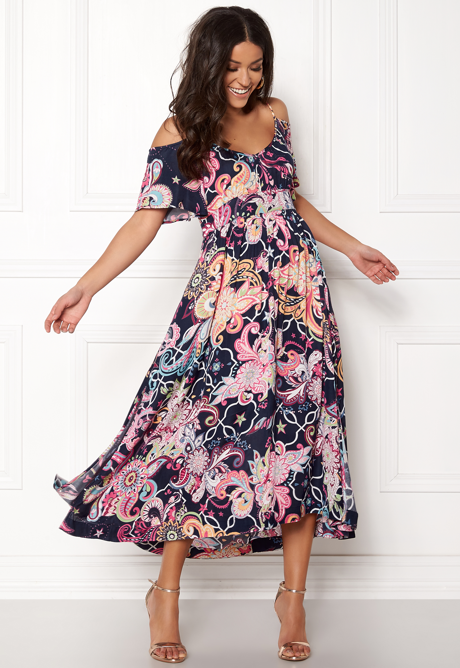 odd molly the gardener long dress dark blue - Odd Molly The Gardener Long Dress