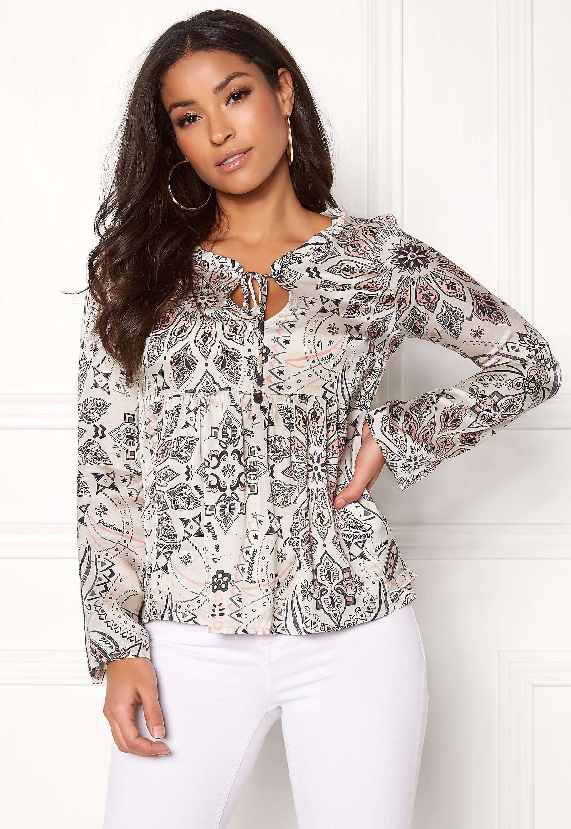 odd molly falling down blouse