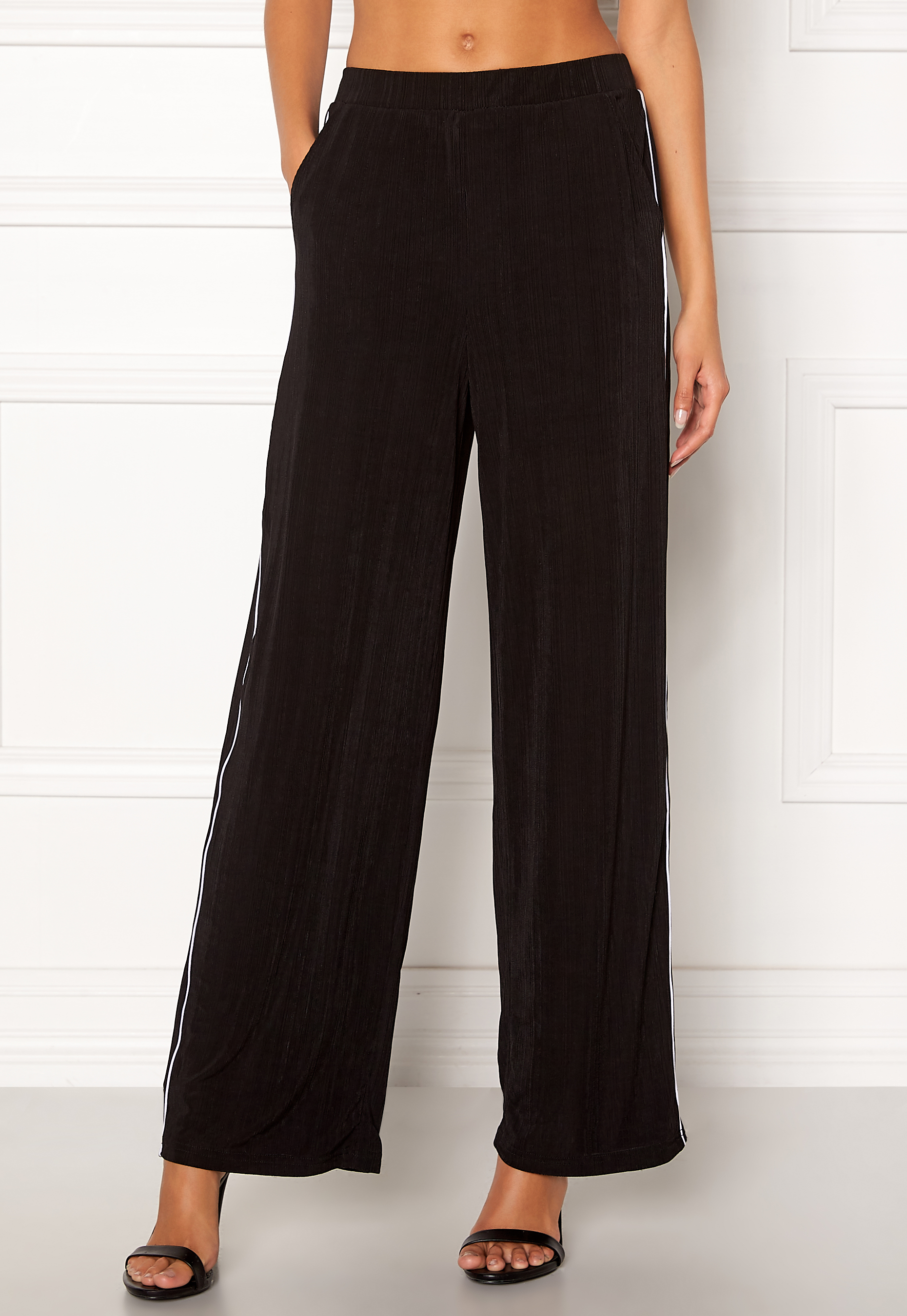 a36a9fc7c ONLY Anja Wide Pant Black - Bubbleroom