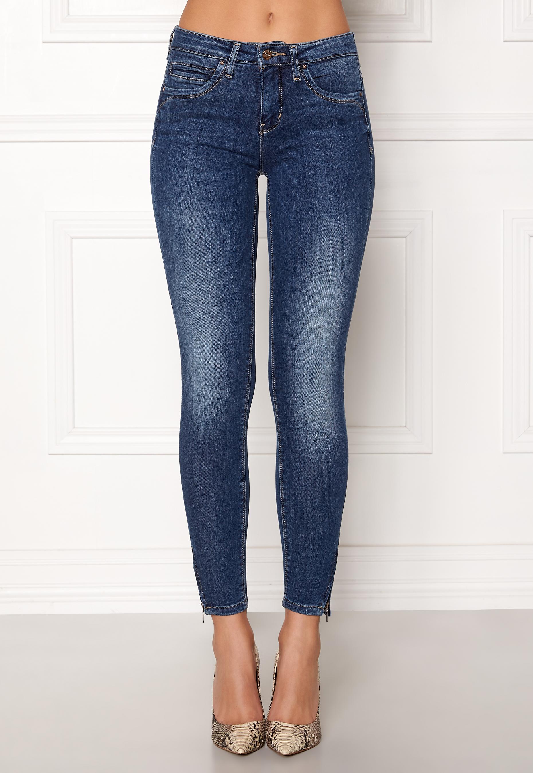 165759f23a ONLY Kendell Regular Skinny Ankle Jeans Medium Blue Denim - Bubbleroom