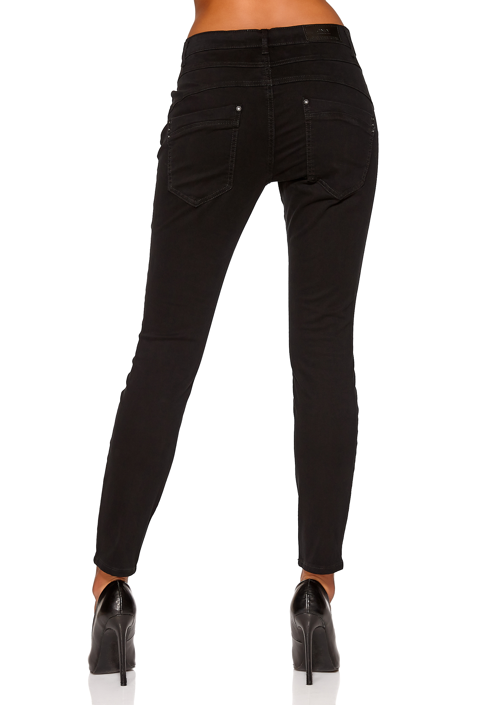 594bf2f483ac ONLY Lizzy Antifit Pant Black - Bubbleroom