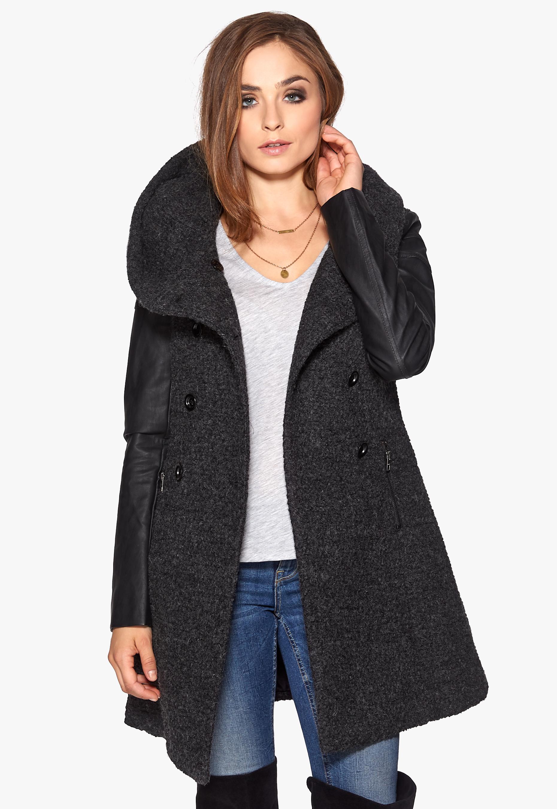 Welcher Only Damen-Mantel eignet sich für welche Figur?