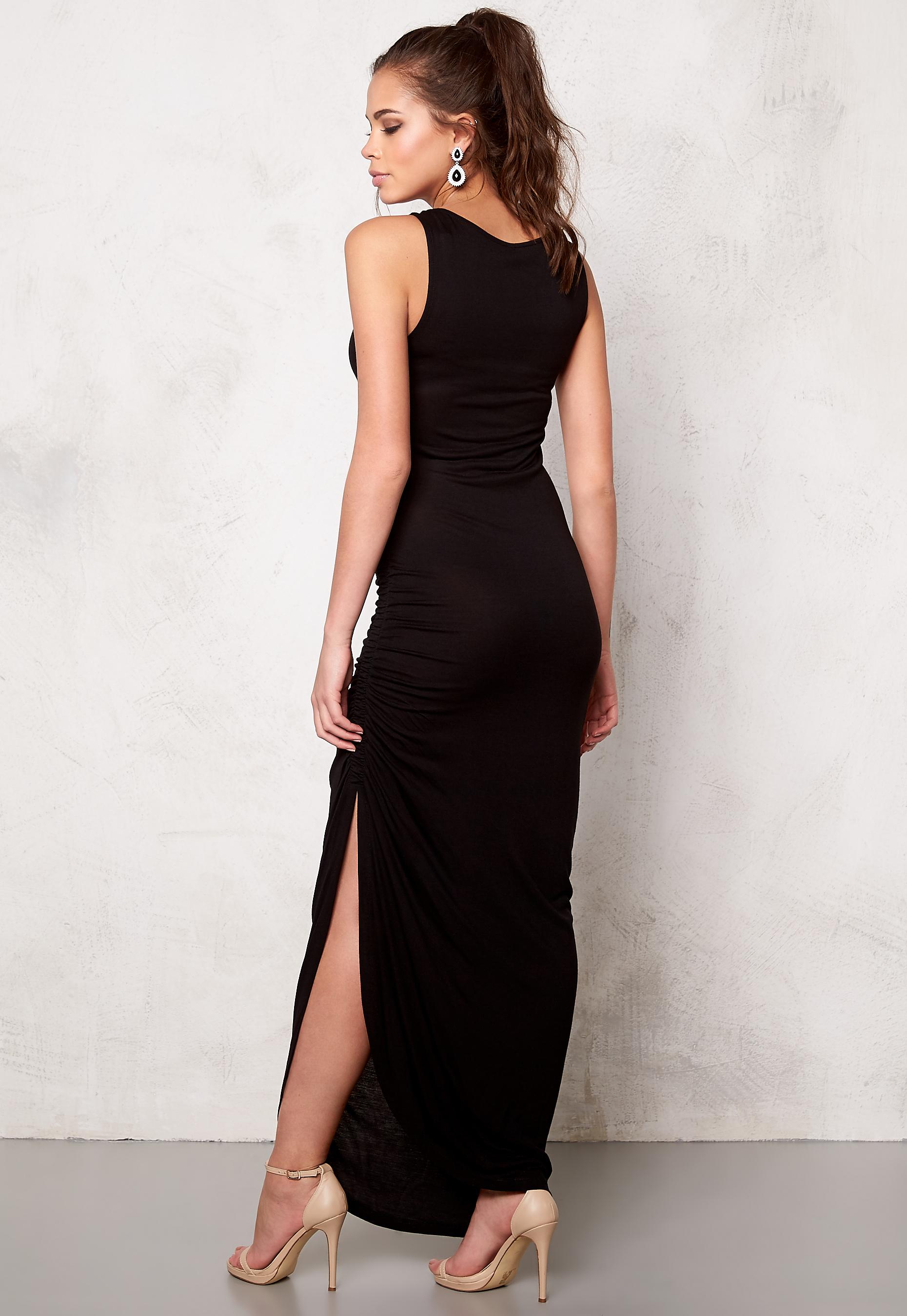 Maxi jurk zwart only