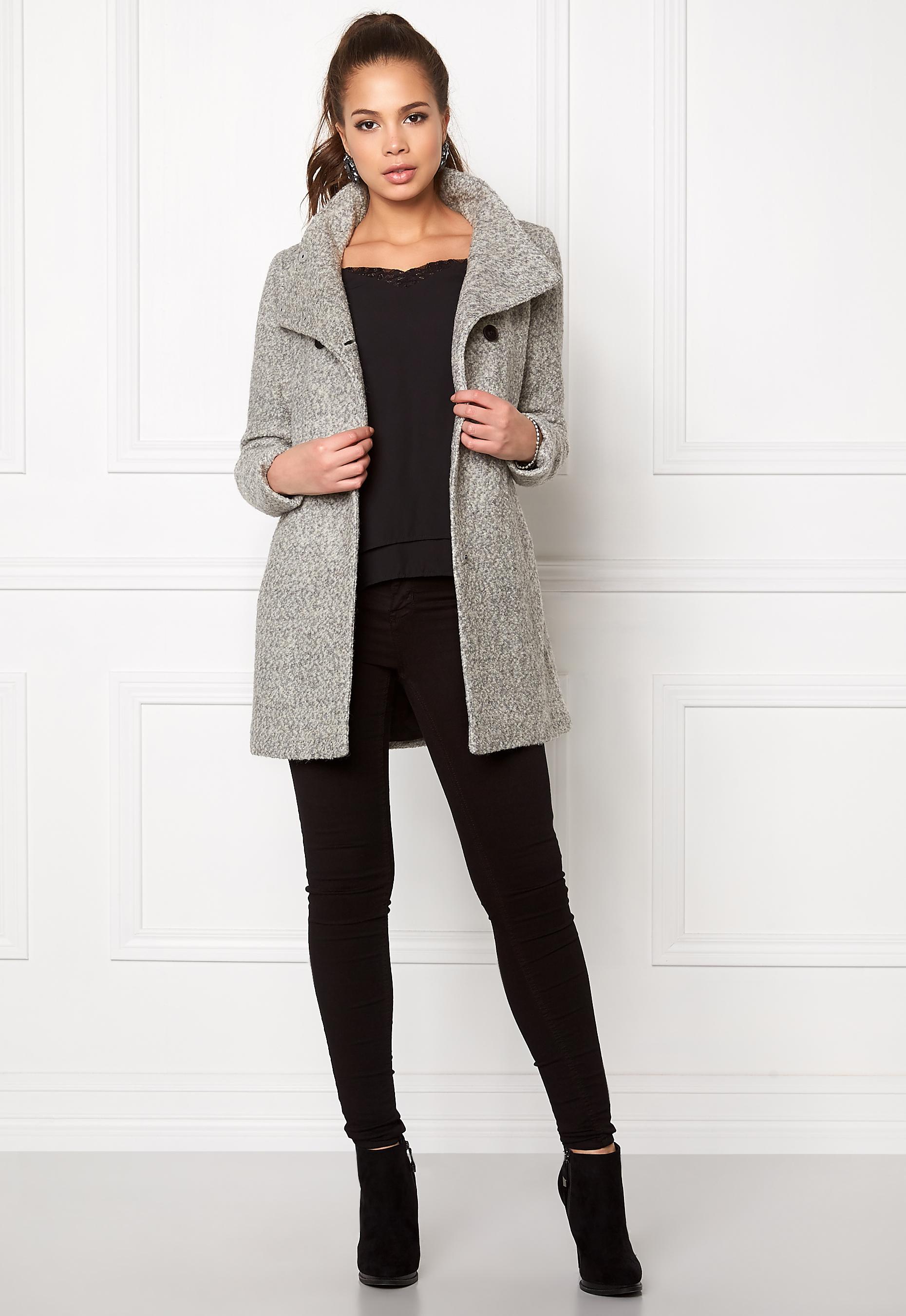 ONLY Onlally Sophia Wool Coat Cc Otw amazon grigio Lana