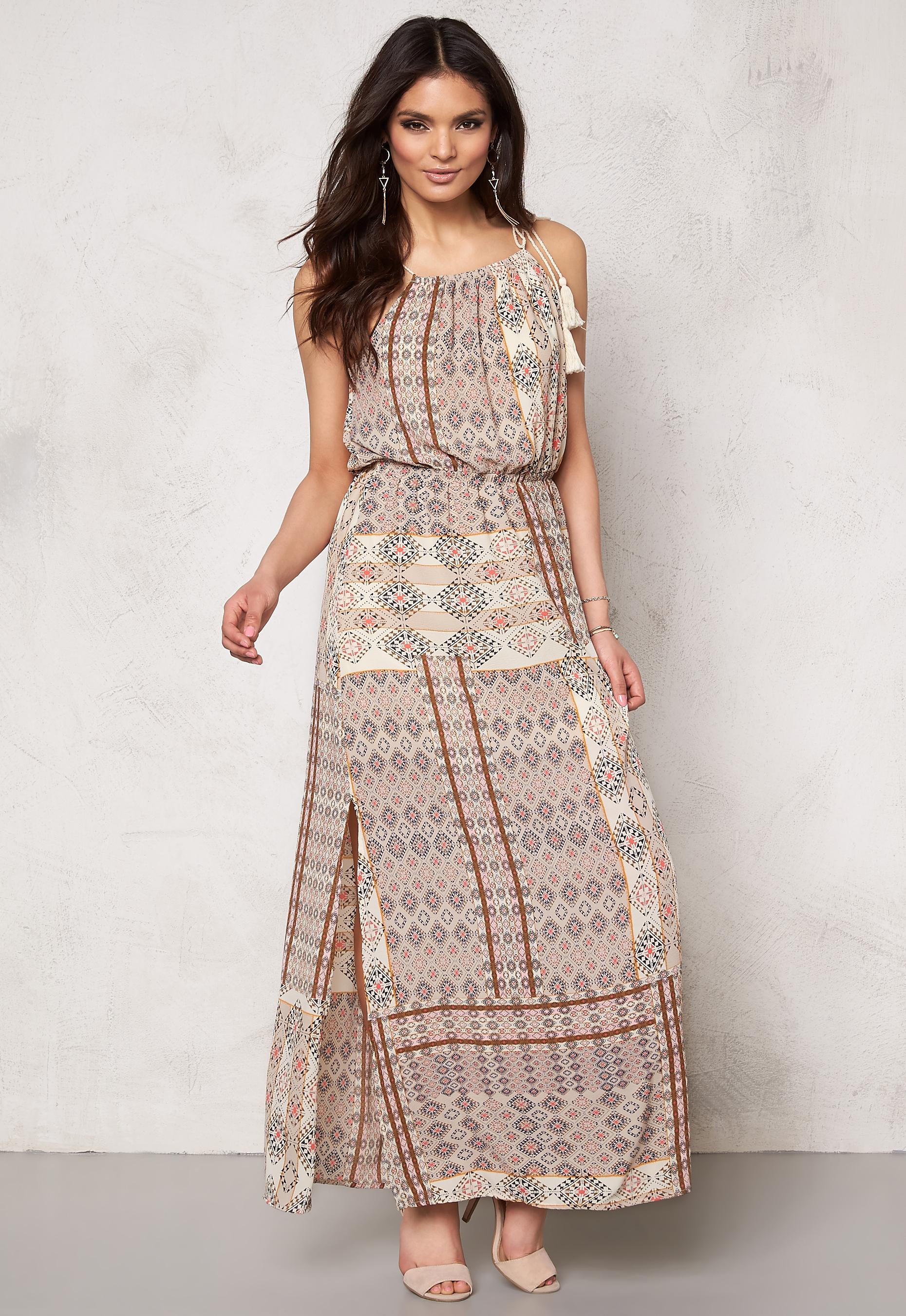 82600f083dd ONLY Nova lux desert dress Bone White - Bubbleroom